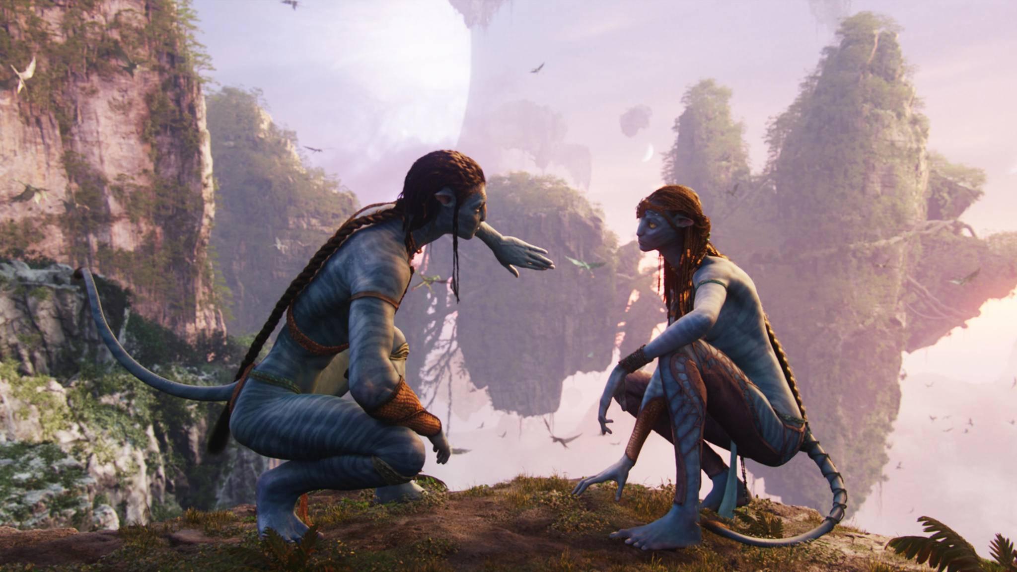 """Der Cast von """"Avatar 2"""" geht im Sequel auf Tauchgang."""