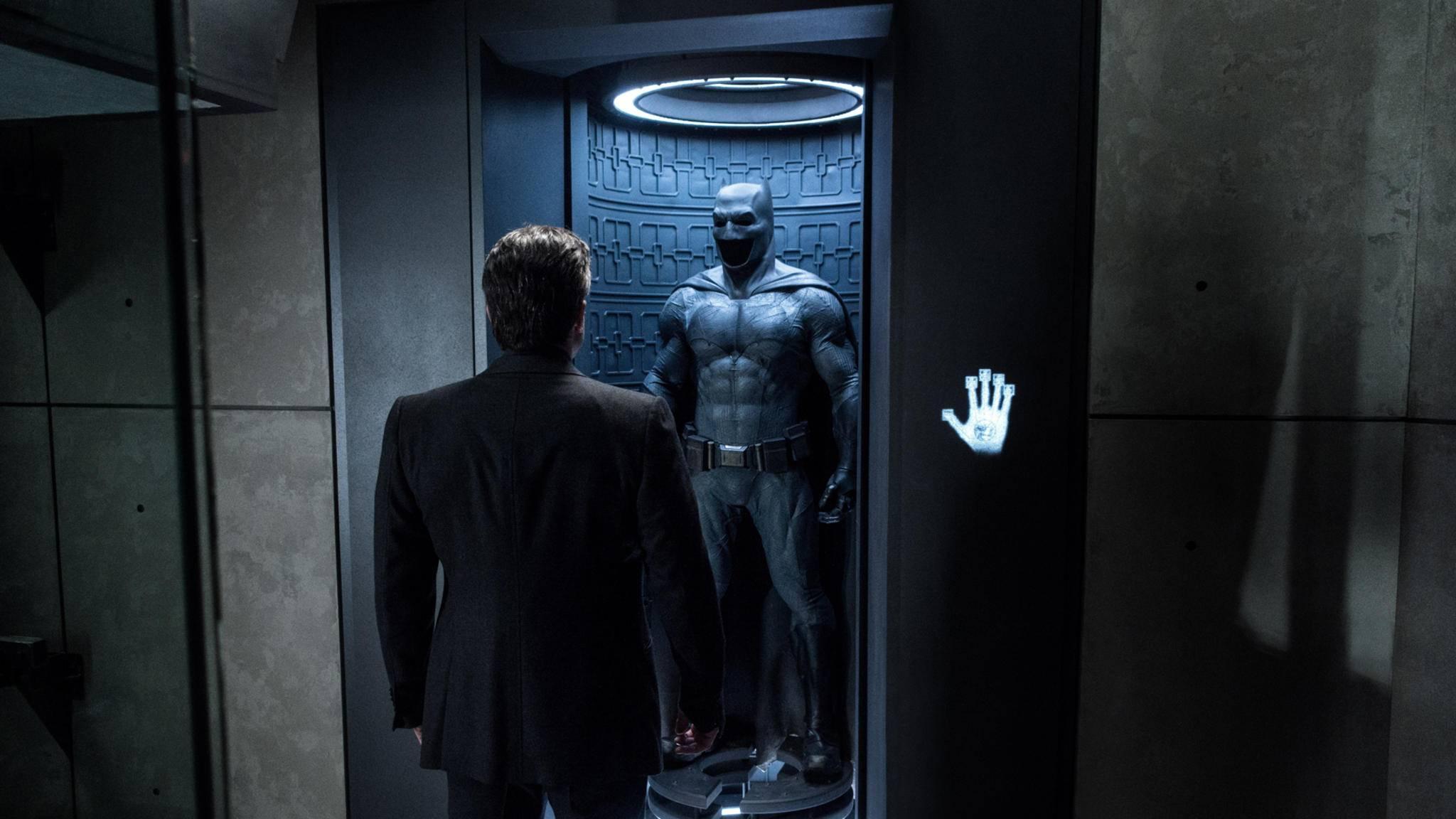 Batmans Cape muss noch ein bisschen länger im Schrank bleiben.
