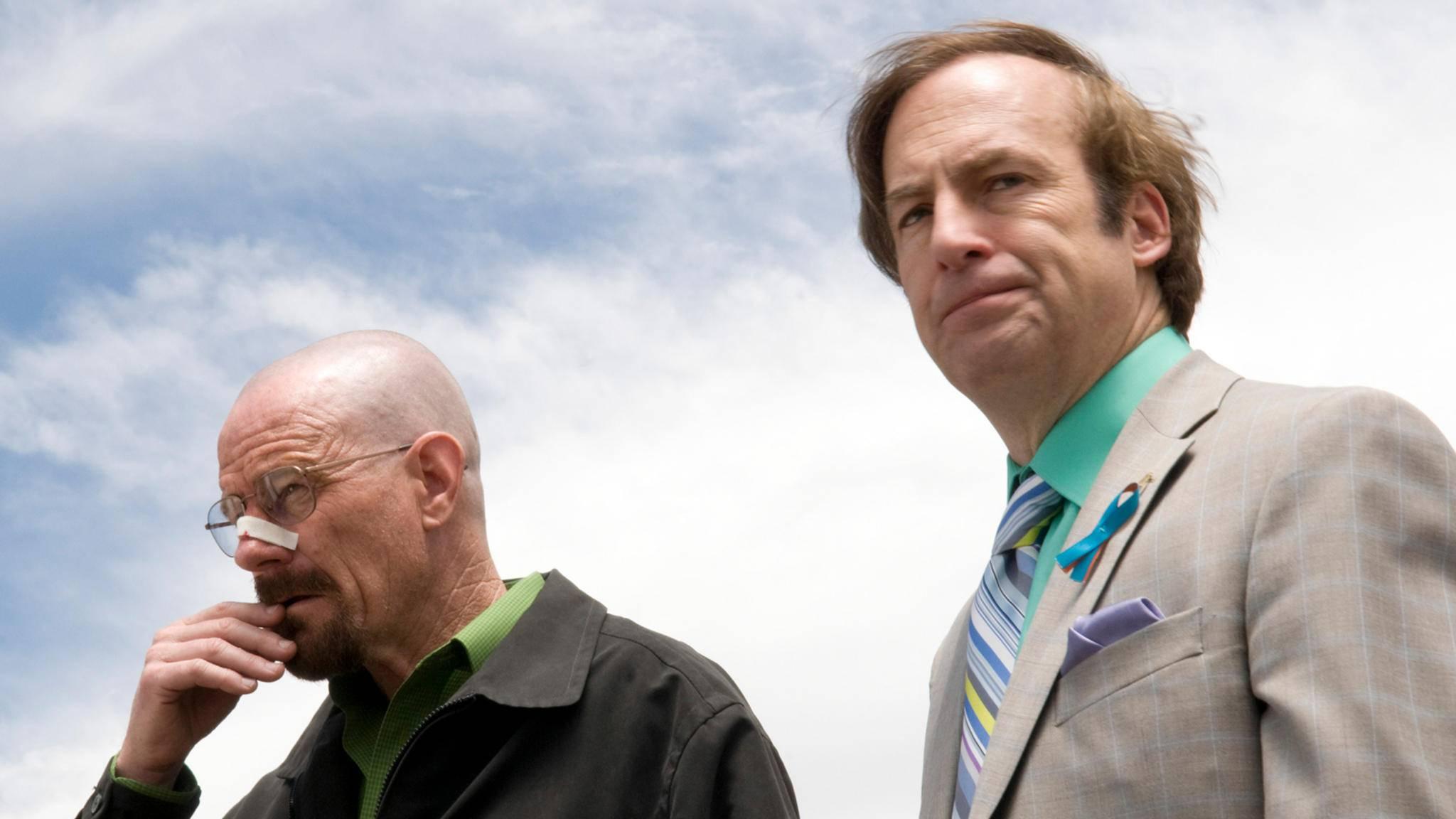 """Gibt es in """"Better Call Saul"""" ein Wiedersehen zwischen Saul Goodman und Walter White?"""