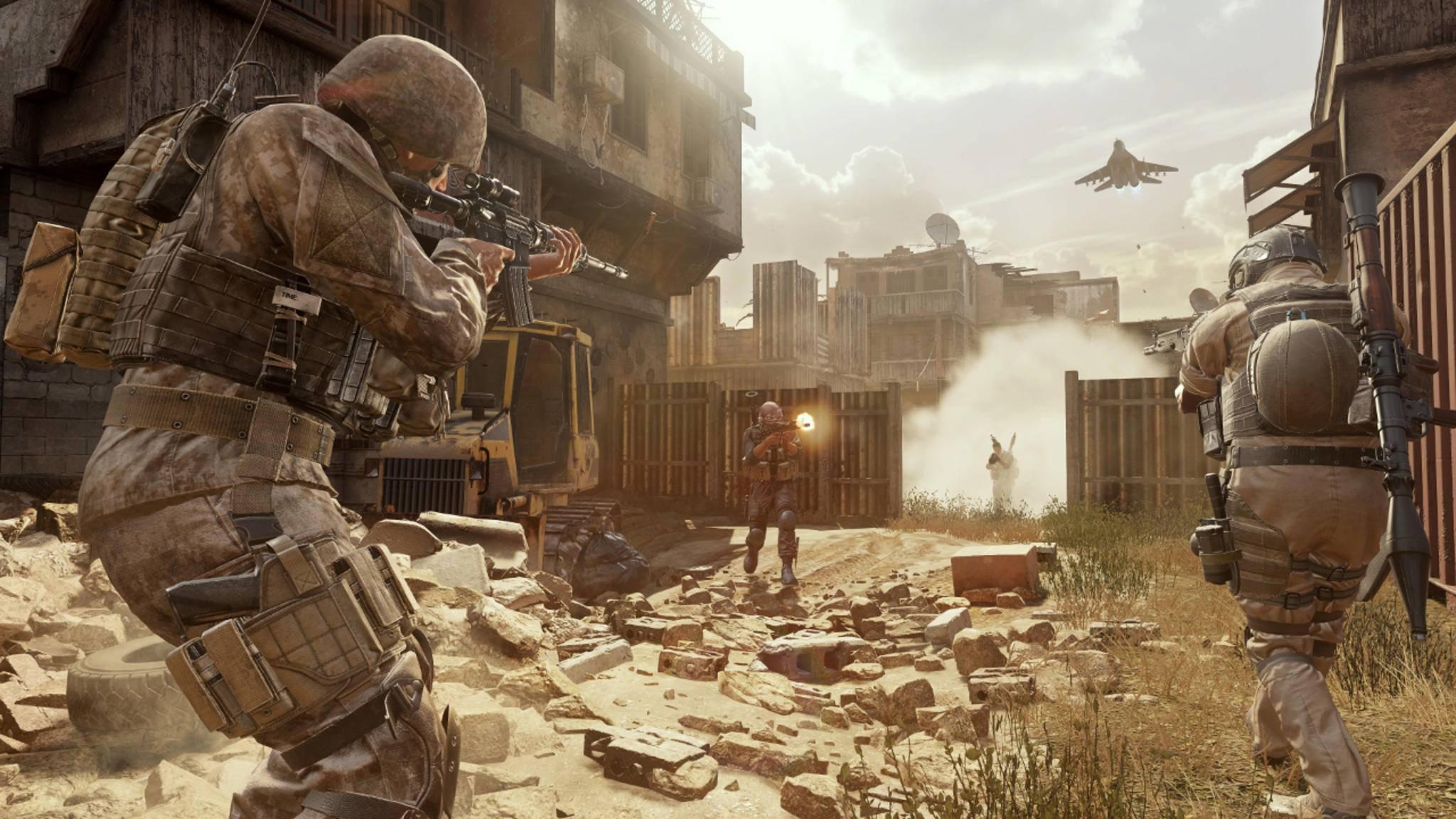 """In """"Call of Duty 2017"""" sollen Bodenkämpfe wieder wichtiger werden."""