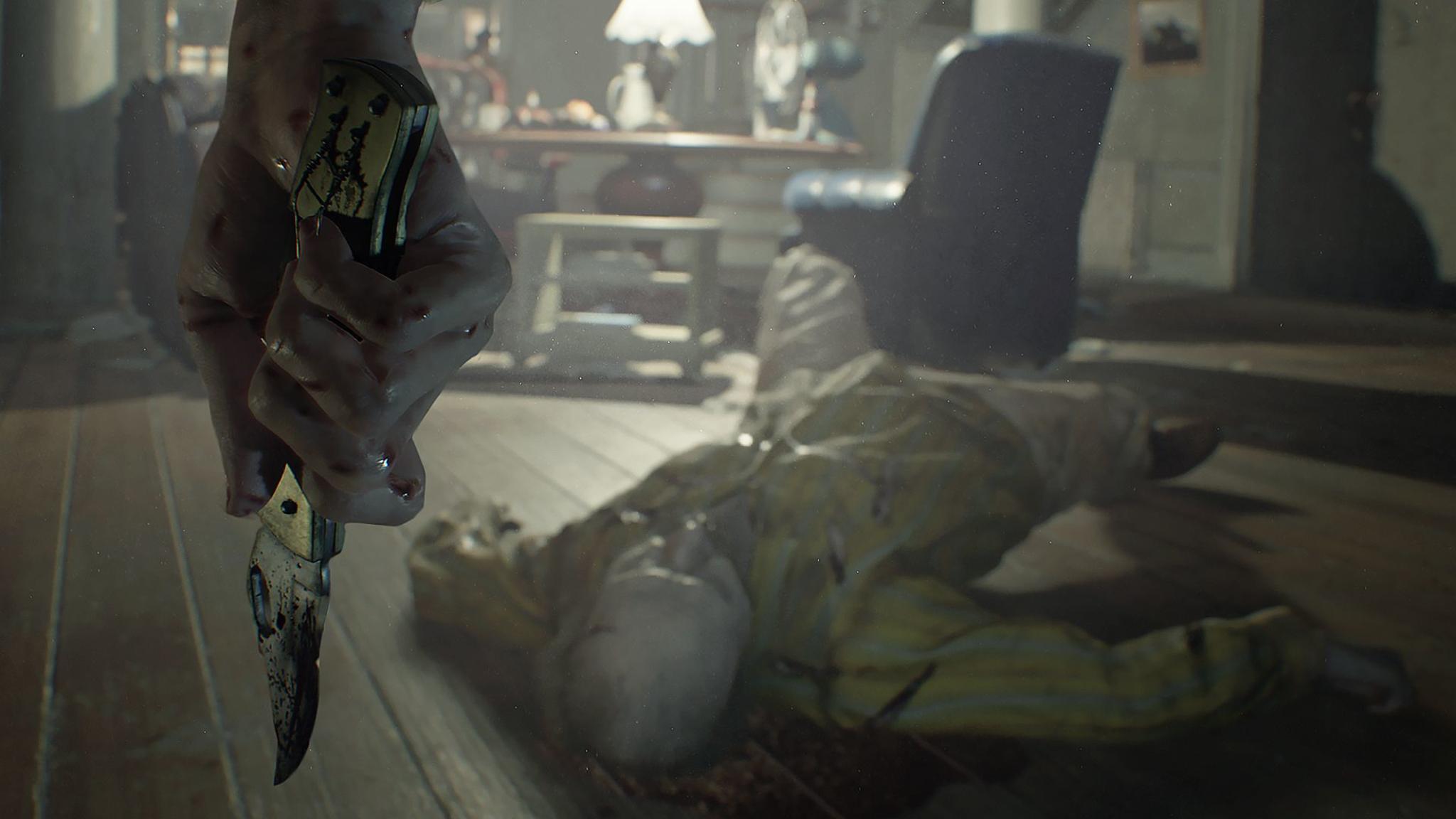 """""""Resident Evil 7"""" setzte erstmals auf die First-Person-Perspektive."""