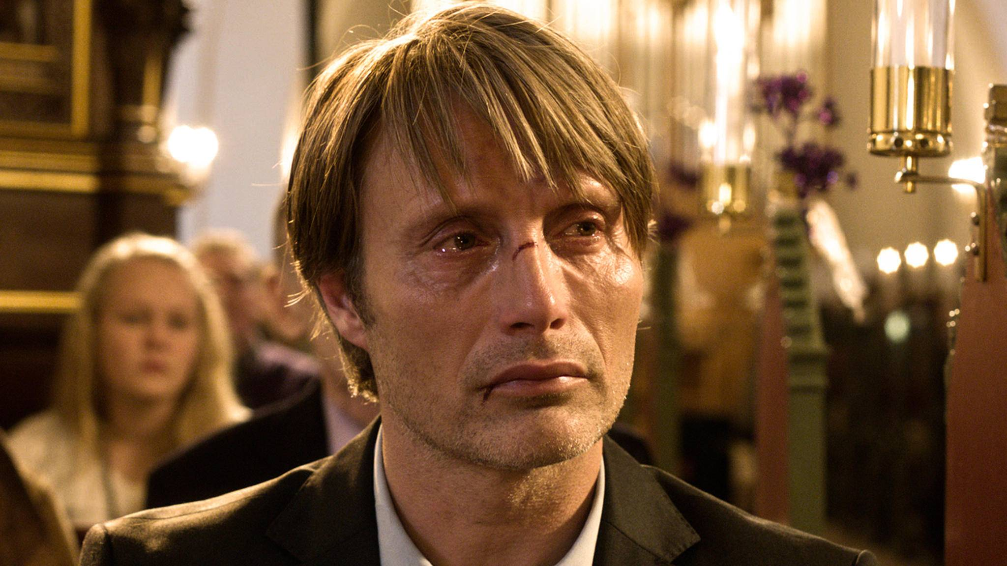 """Einer der gefragtesten dänischen Schauspieler auch in Übersee: Mads Mikkelsen (hier in """"Die Jagd"""")."""