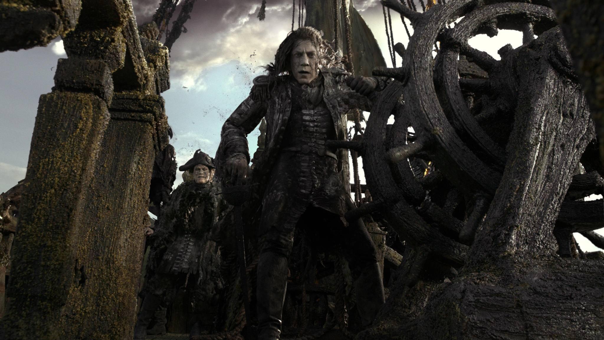 """In """"Fluch der Karibik 5"""" bekommt Jack Sparrow mit Captain Salazar einen unheimlichen neuen Gegner."""