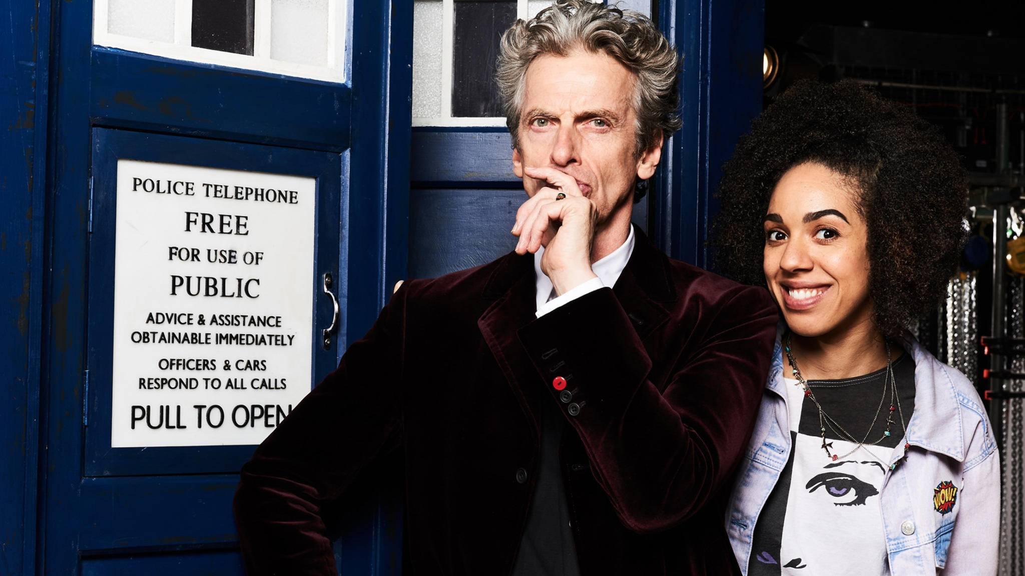 """Bald geht es los: """"Doctor Who"""" startet mit Staffel 10."""