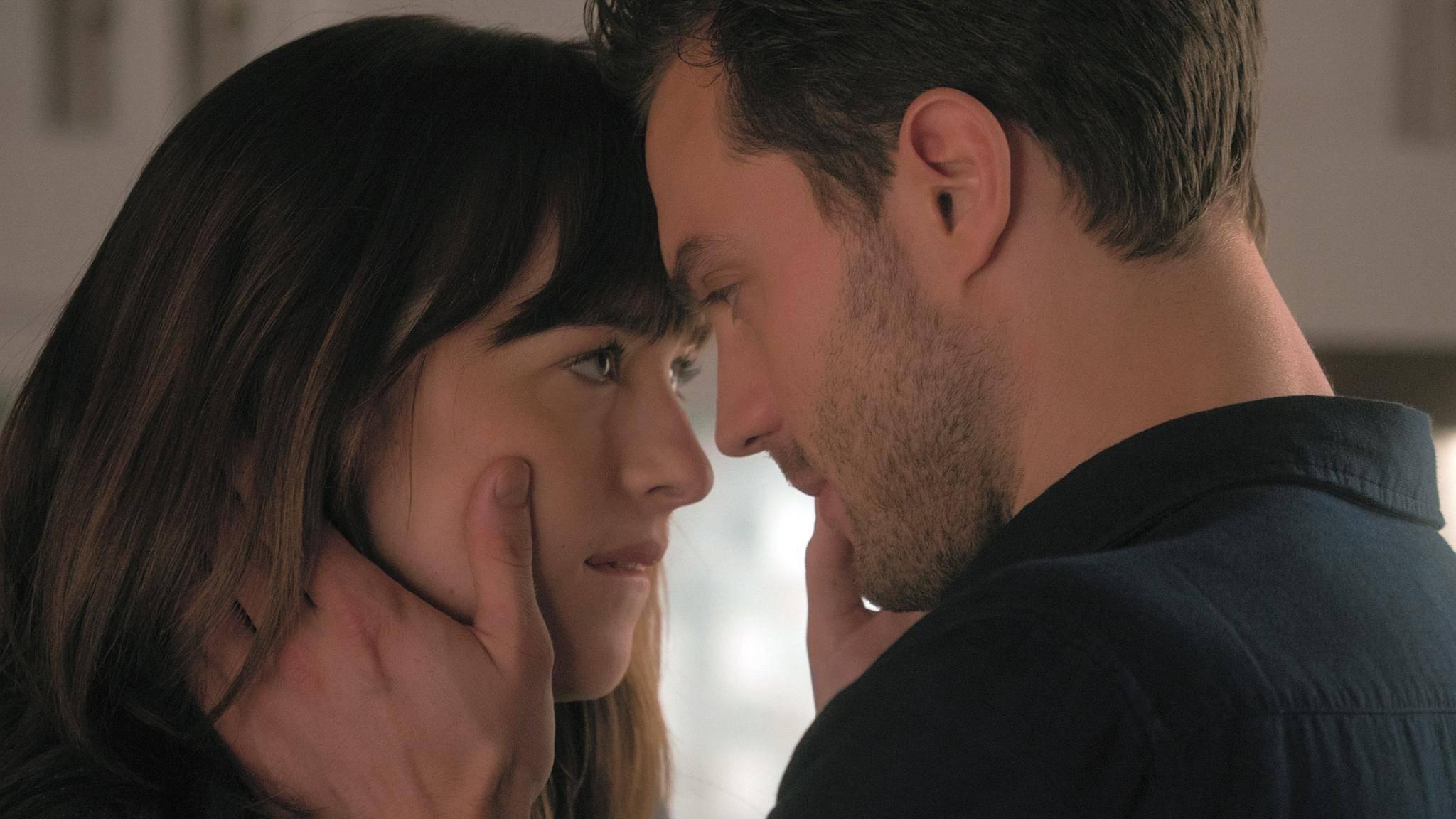 Anastasia und Christian können nicht voneinander lassen.