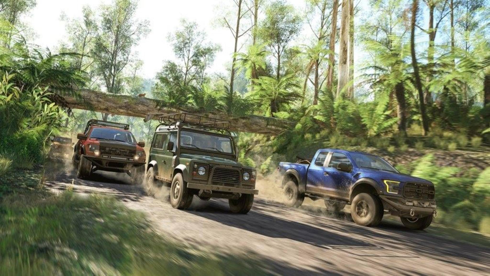 """""""Forza Horizon 3"""" erschien 2016. Nun könnte die Ankündigung des Nachfolgers bald bevorstehen."""