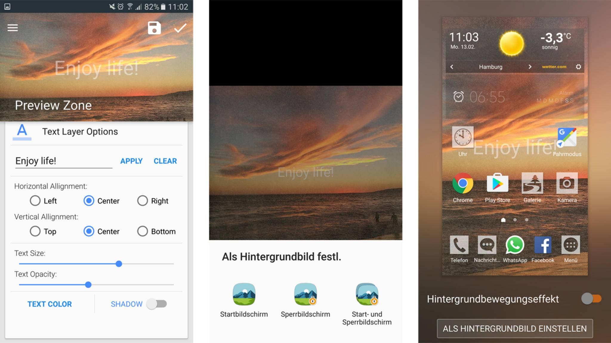 Android automatisch wechselnde wallpaper eigene erstellen - Wallpaper erstellen ...
