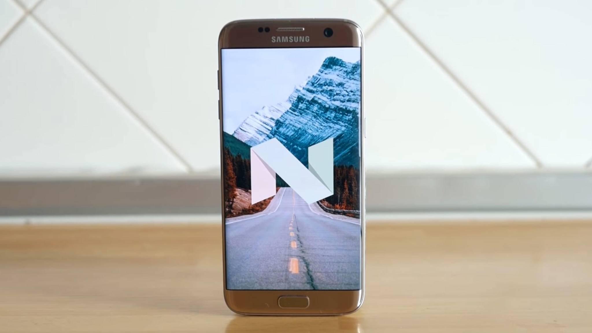 Das Nougat-Update bringt neue Features fürs Galaxy S6 und Galaxy S7: Unterschiede gibt es dennoch.