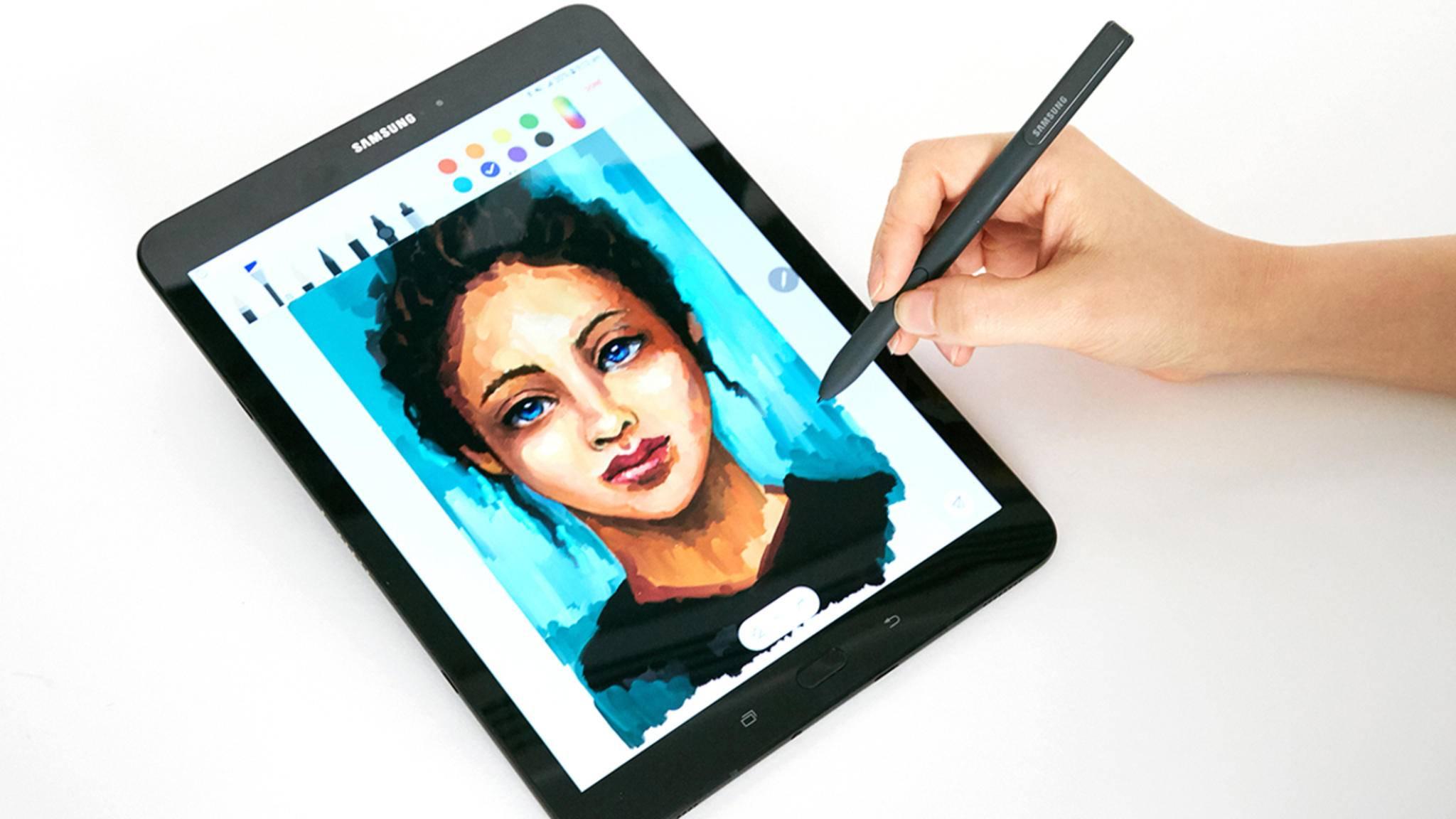 Auf Samsungs MWC-Pressekonferenz wurde das Galaxy Tab S3 vorgestellt.