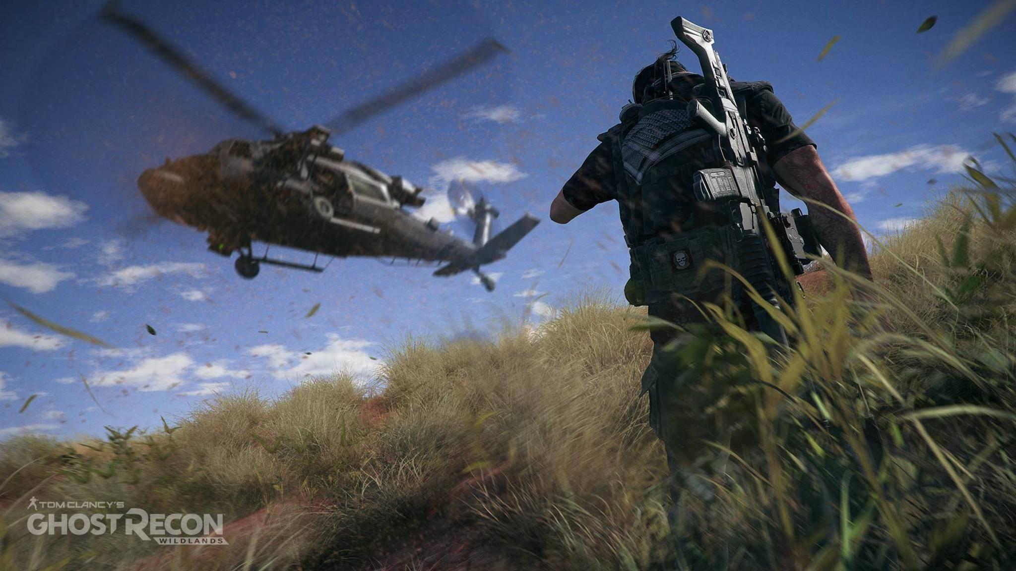 """Alles da für Battle Royale: Hubschrauber in """"Ghost Recon Wildlands"""""""
