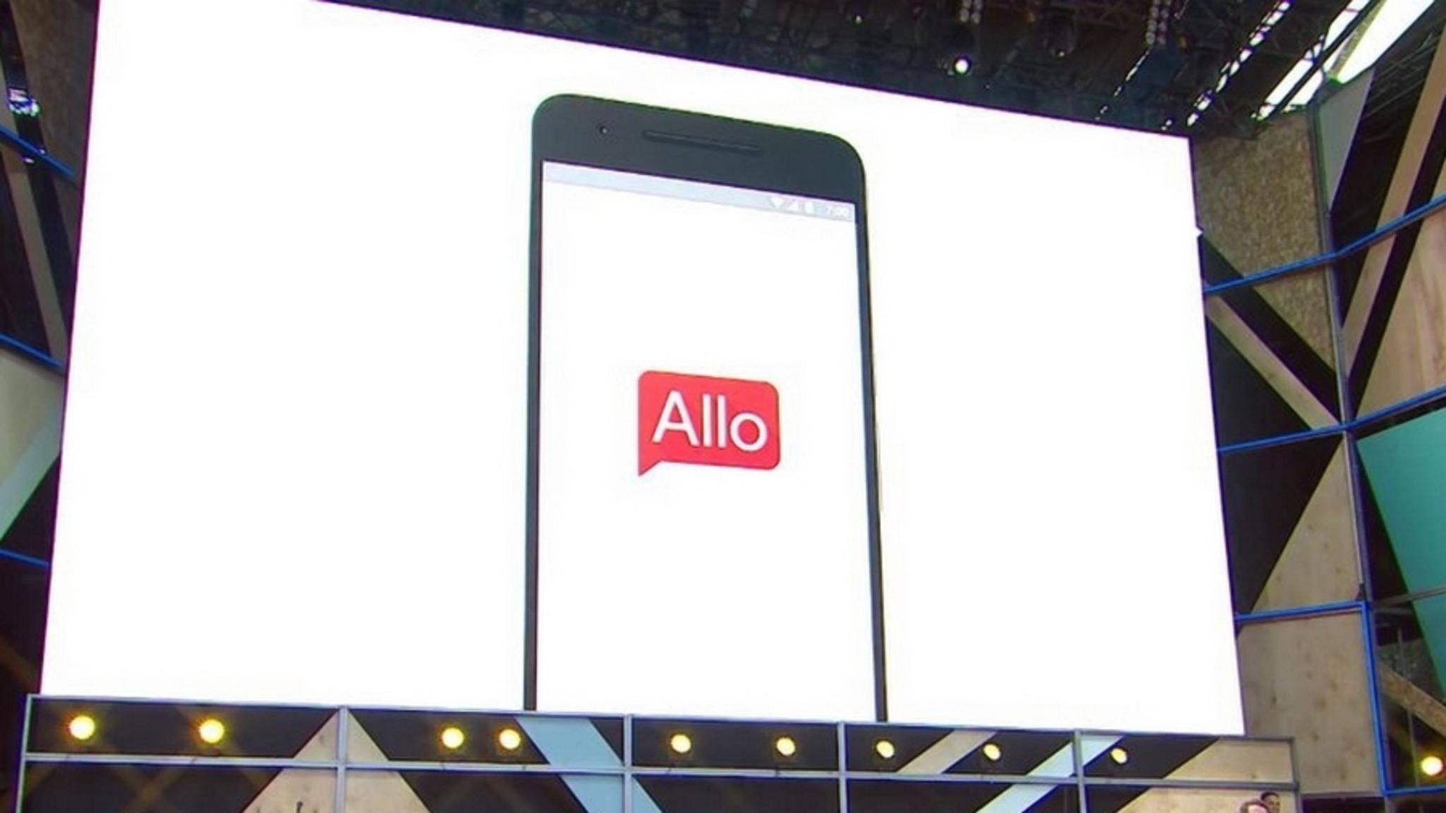 Der Messenger Allo soll auf den Desktop kommen.