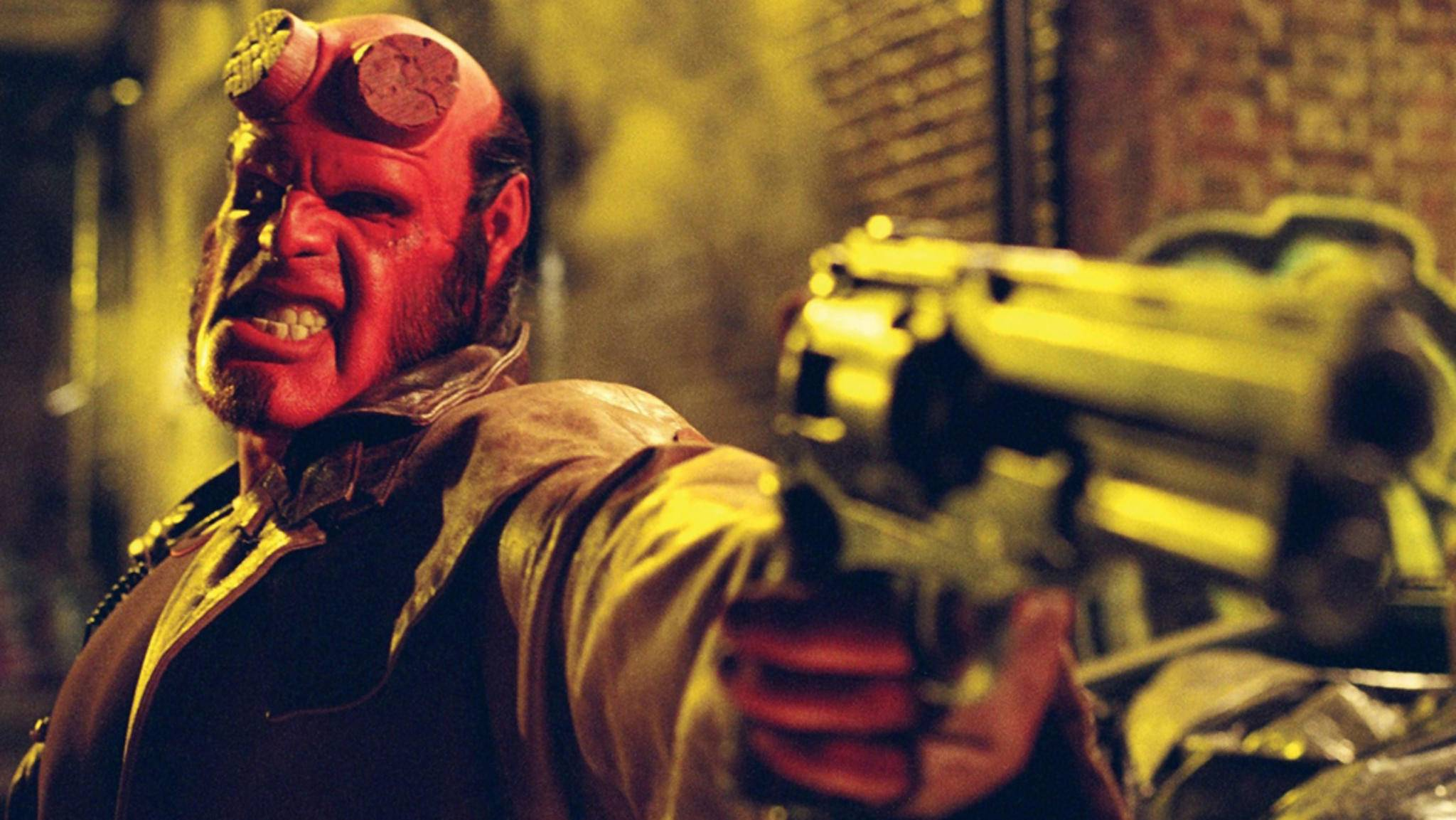 """Als """"Stranger Things""""-Cop machte David Harbour eine gute Figur – ob er auch als Hellboy überzeugen kann?"""