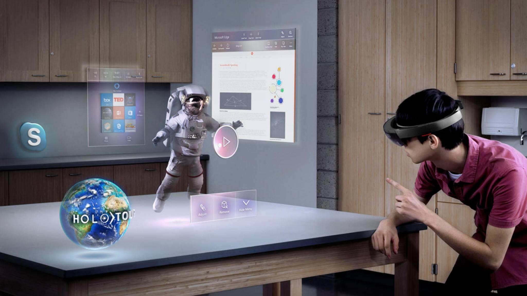 Microsoft könnte seine HoloLens schon 2019 in der dritten Generation veröffentlichen.