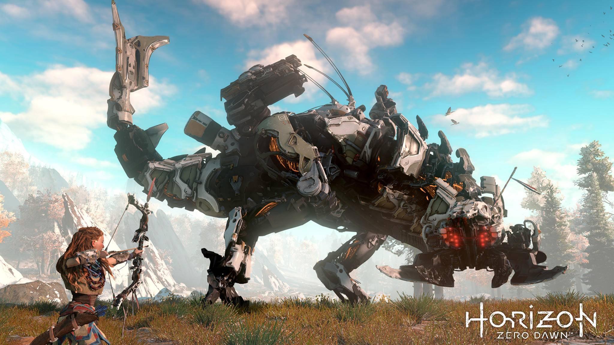"""""""Horizon Zero Dawn"""": So erledigst Du die fünf mächtigsten Maschinen."""