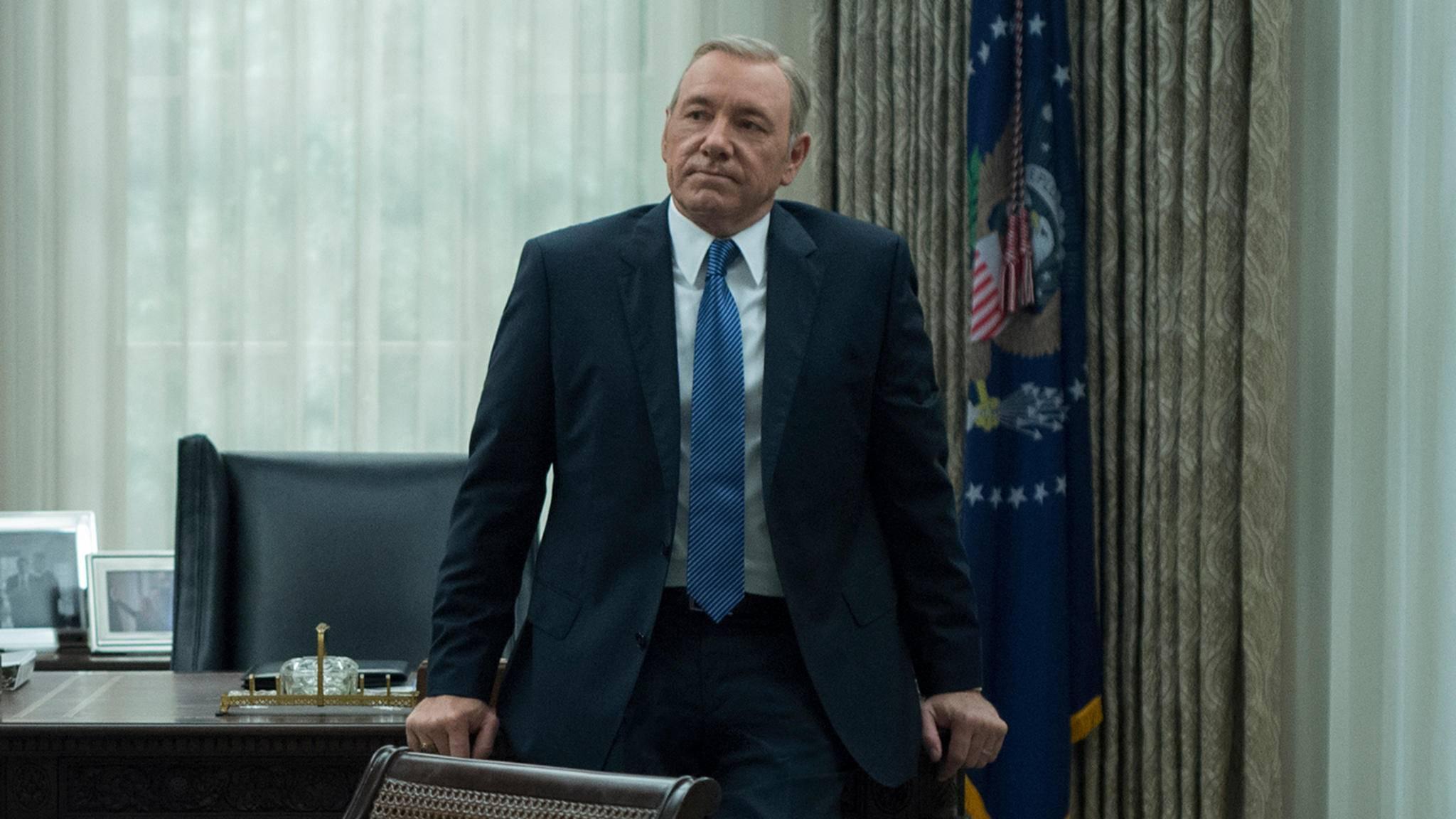 """Mit wem bekommt es Frank Underwood in der fünften """"House of Cards""""-Staffel zu tun?"""