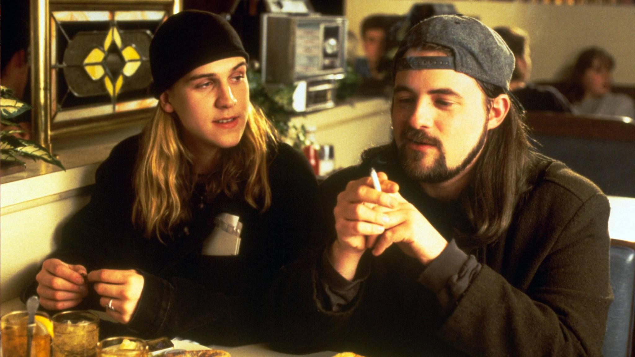 """Auch in """"Chasing Amy"""" von Regisseur Kevin Smith mit dabei: Jay und Silent Bob."""