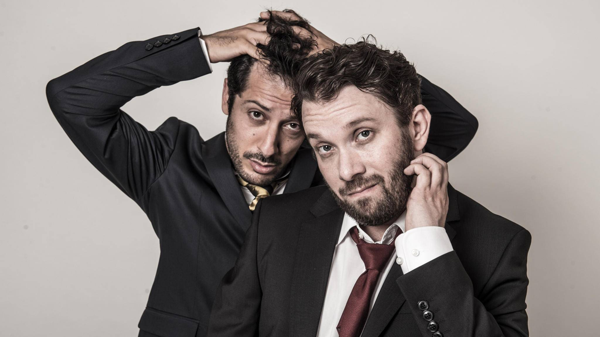 """Die neue Serie """"Jerks"""" mit Christian Ulmen und Fahri Yardim läuft ab sofort auch auf ProSieben."""