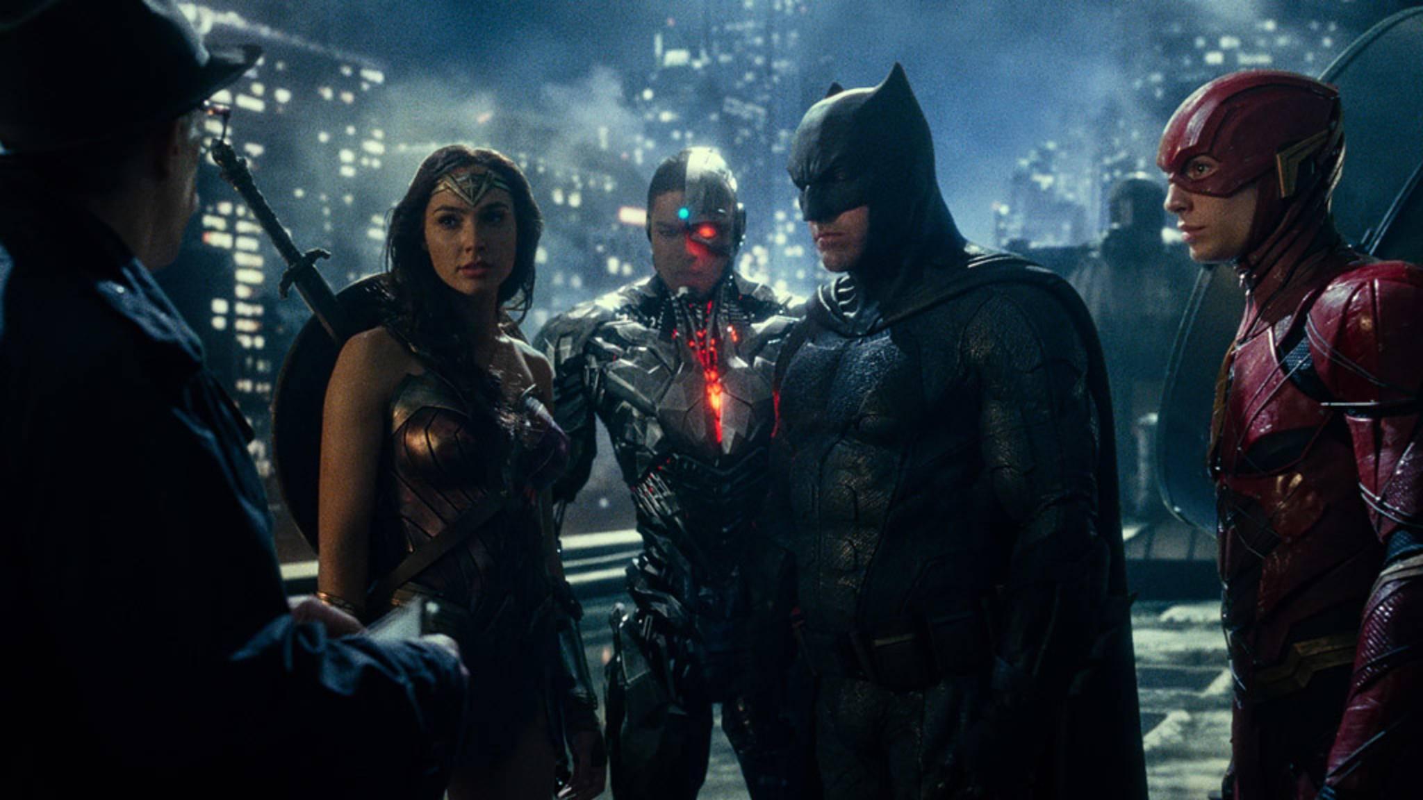 """Im November vereint sich die """"Justice League"""" auf der großen Kinoleinwand."""