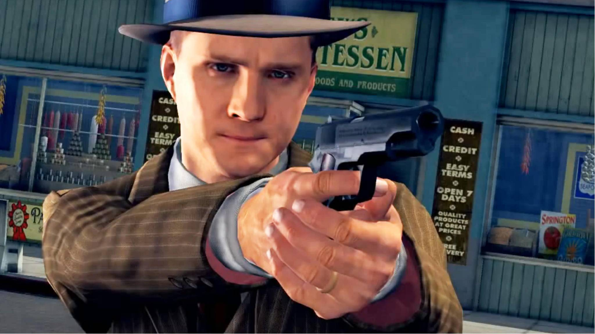 """Ab November dürfen auch Konsolenspieler in """"L.A. Noire"""" als Detektiv Cole Phelps ermitteln."""