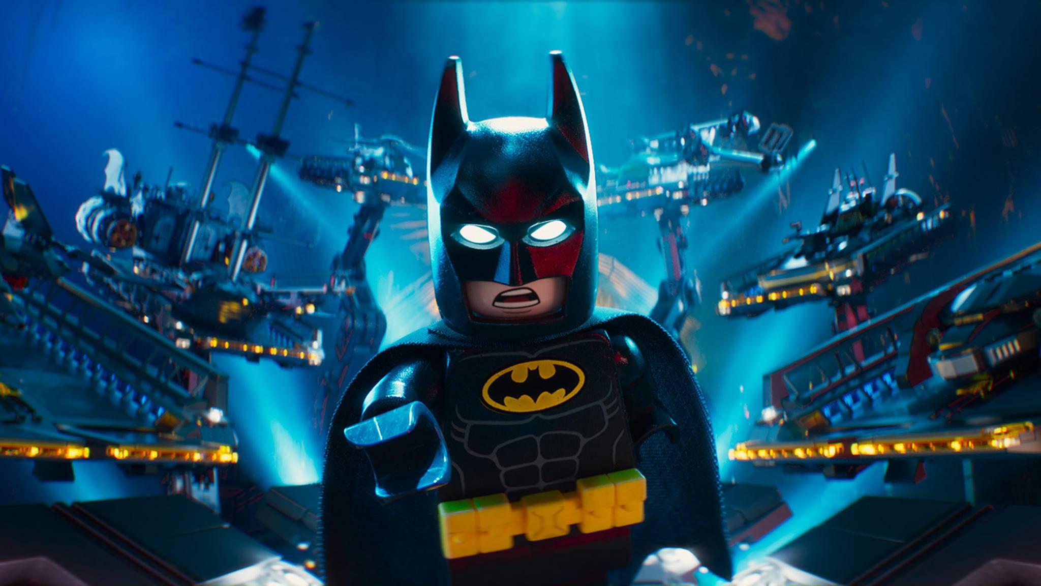 Batman ist auf der Kinoleinwand zurück – dieses Mal aus Lego!