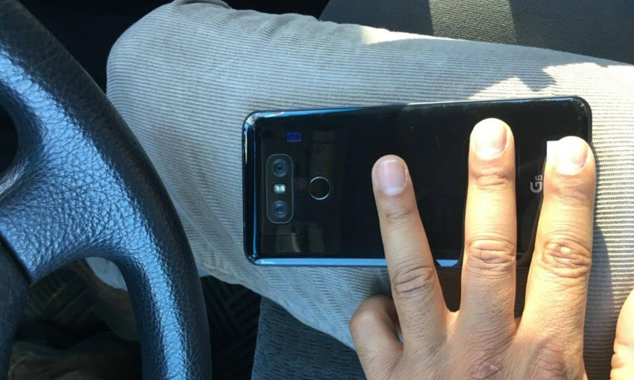 Das LG G6 könnte in einer glänzend-schwarzen Version erscheinen.