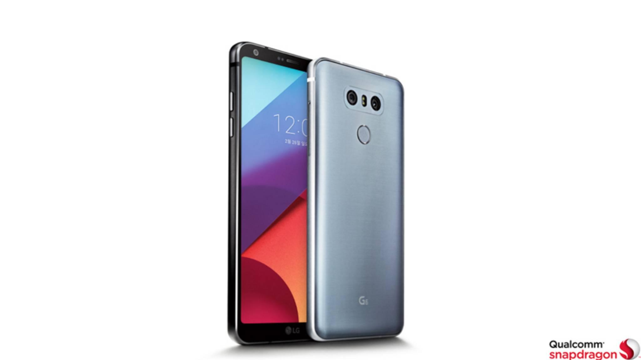 Das LG G6 hat ein Display mit Dolby Vision-Support.
