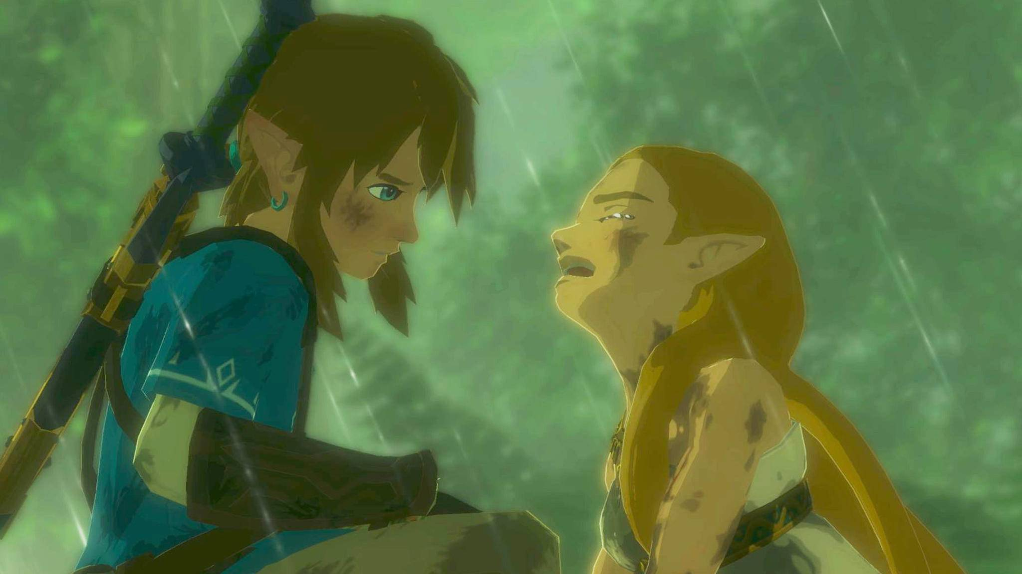 "Spricht Link in ""The Legend of Zelda: Breath of the Wild"" nicht?"