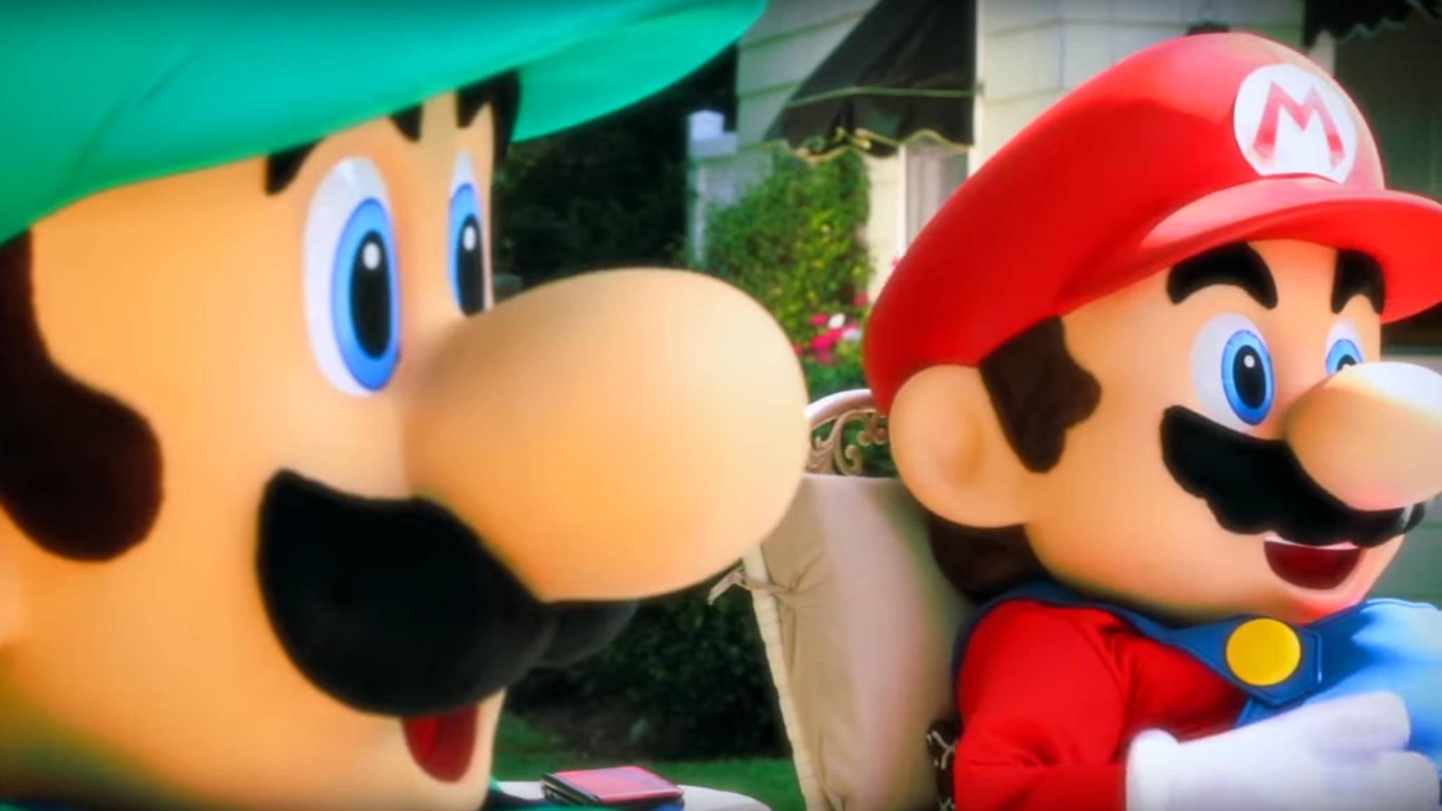 Was wäre Mario nur ohne seinen Bruder Luigi?