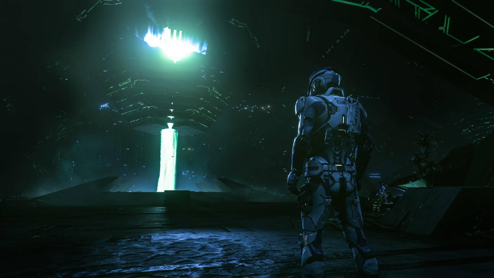 """Wie groß wird die Welt in """"Mass Effect: Andromeda""""?"""