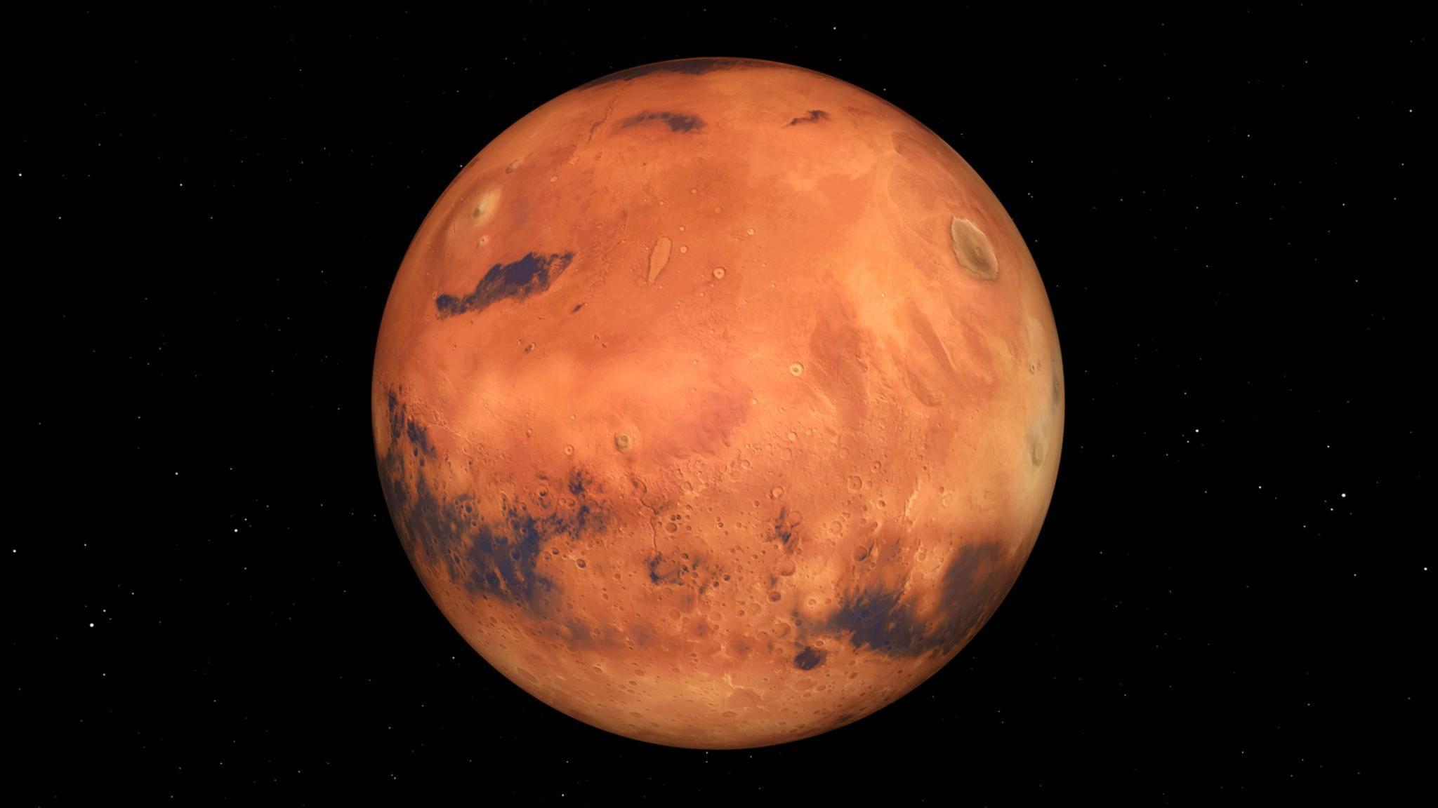 """Zukunftsvision: Die VAE planen eine """"Mini-Stadt"""" auf dem Mars."""