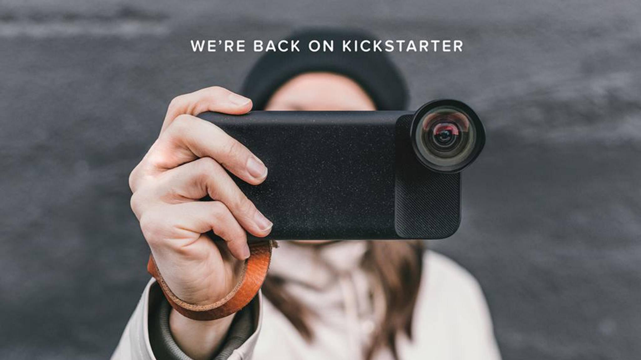 Moment meldet sich mit neuem Kickstarter-Projekt zurück.