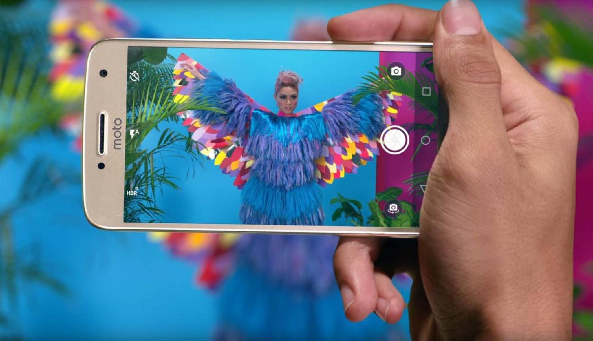Das Moto G5 Plus soll die beste Kamera seiner Klasse haben.