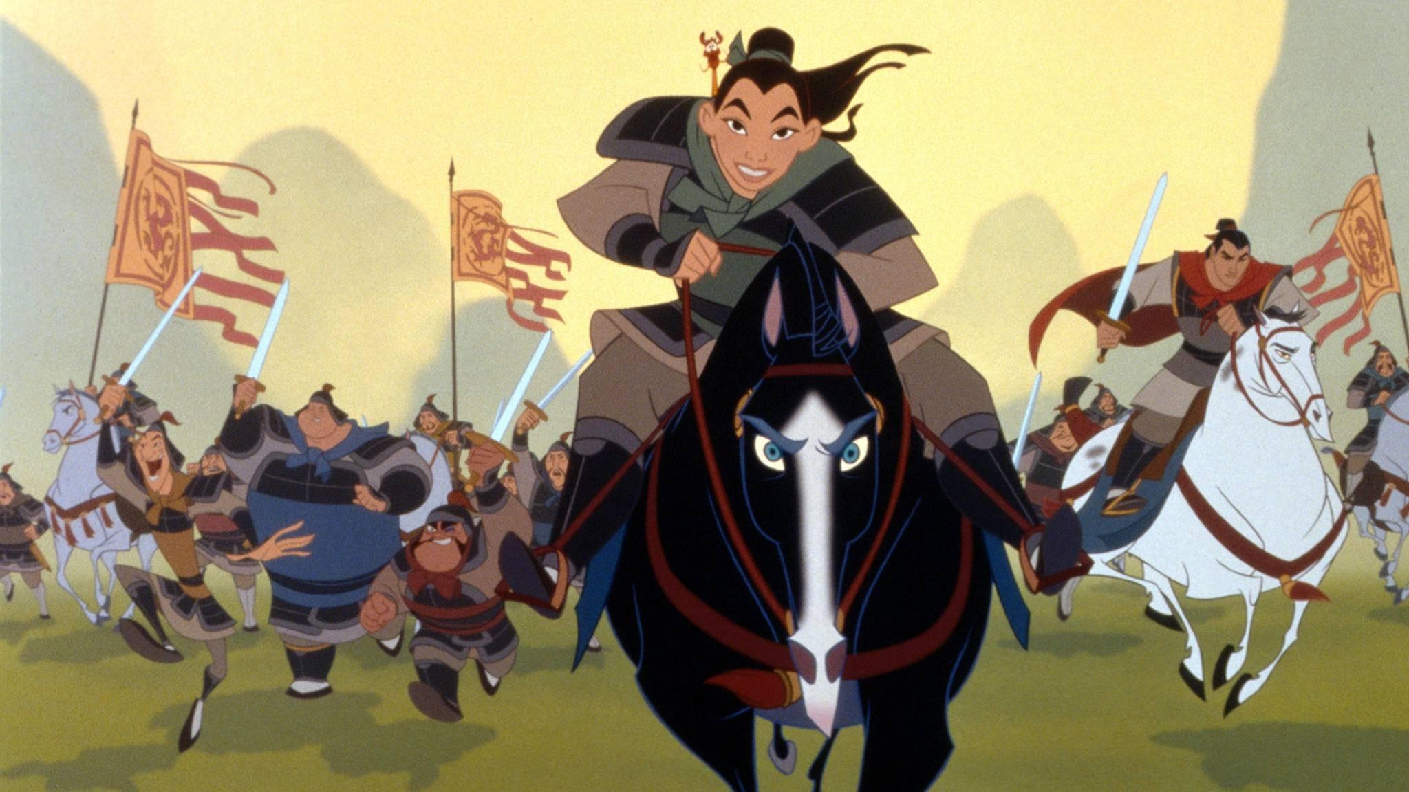 """""""Mulan"""" und """"Aladdin"""": Neues zu den kommenden Disney-Realfilmen."""