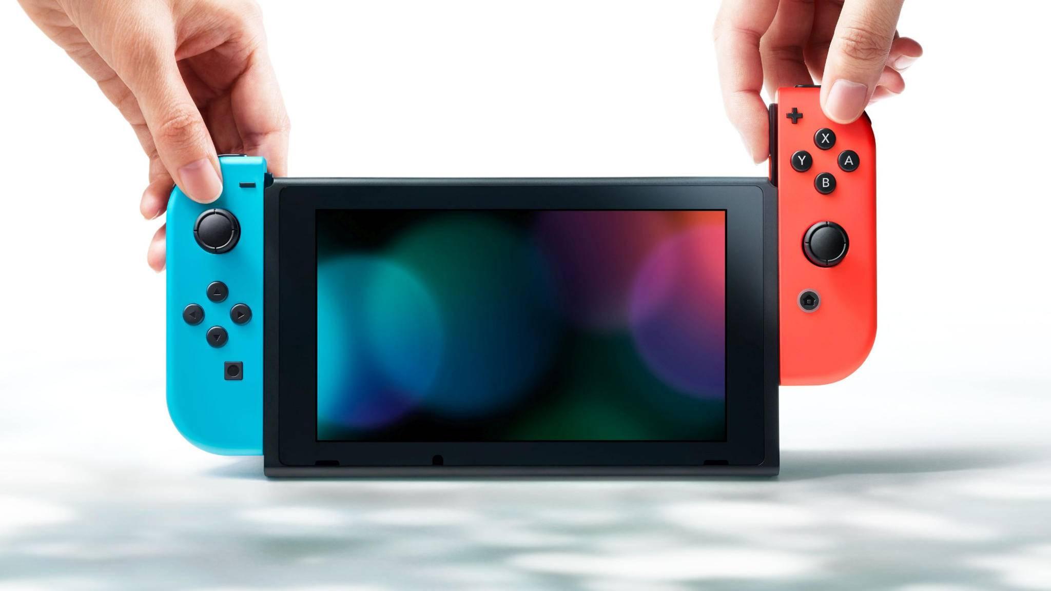 Erfolgsstory: Die Nintendo Switch hält im jüngsten Monatsvergleich mit anderen Konsolen ihrer Generation mit.