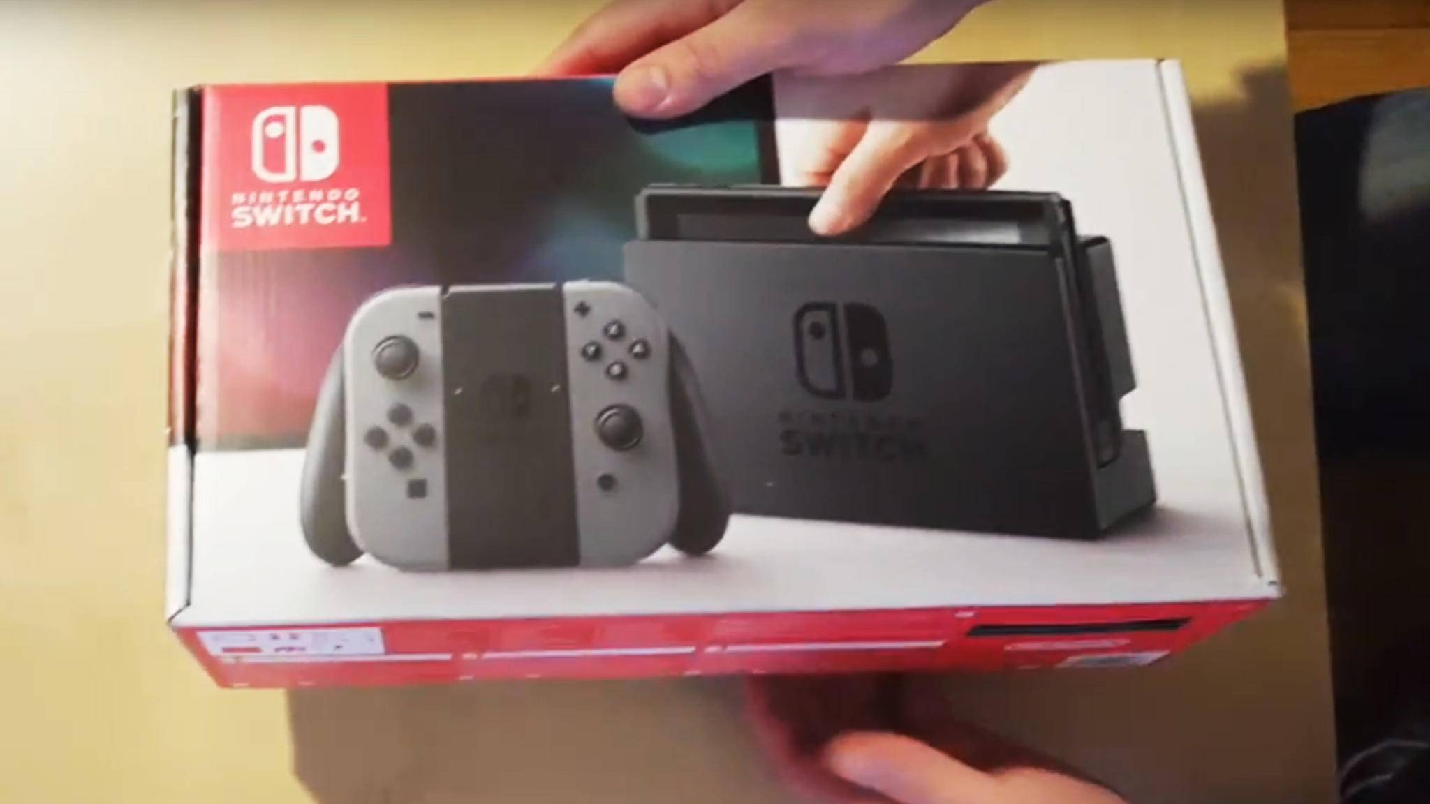 Nintendo Switch Unboxling