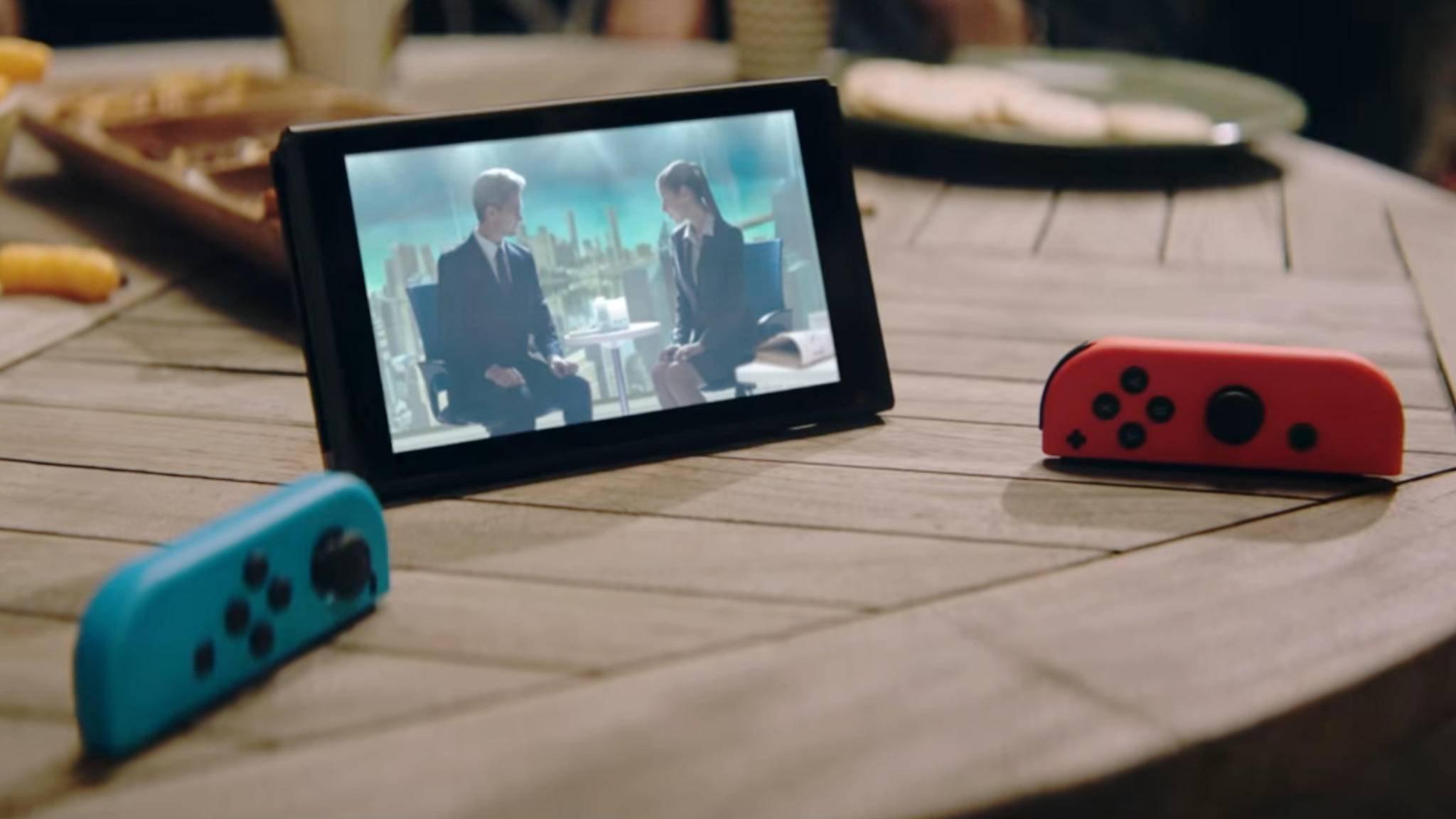 Filme und Serien unterwegs auf der Nintendo Switch gucken – das geht jetzt schon in Japan und den USA.