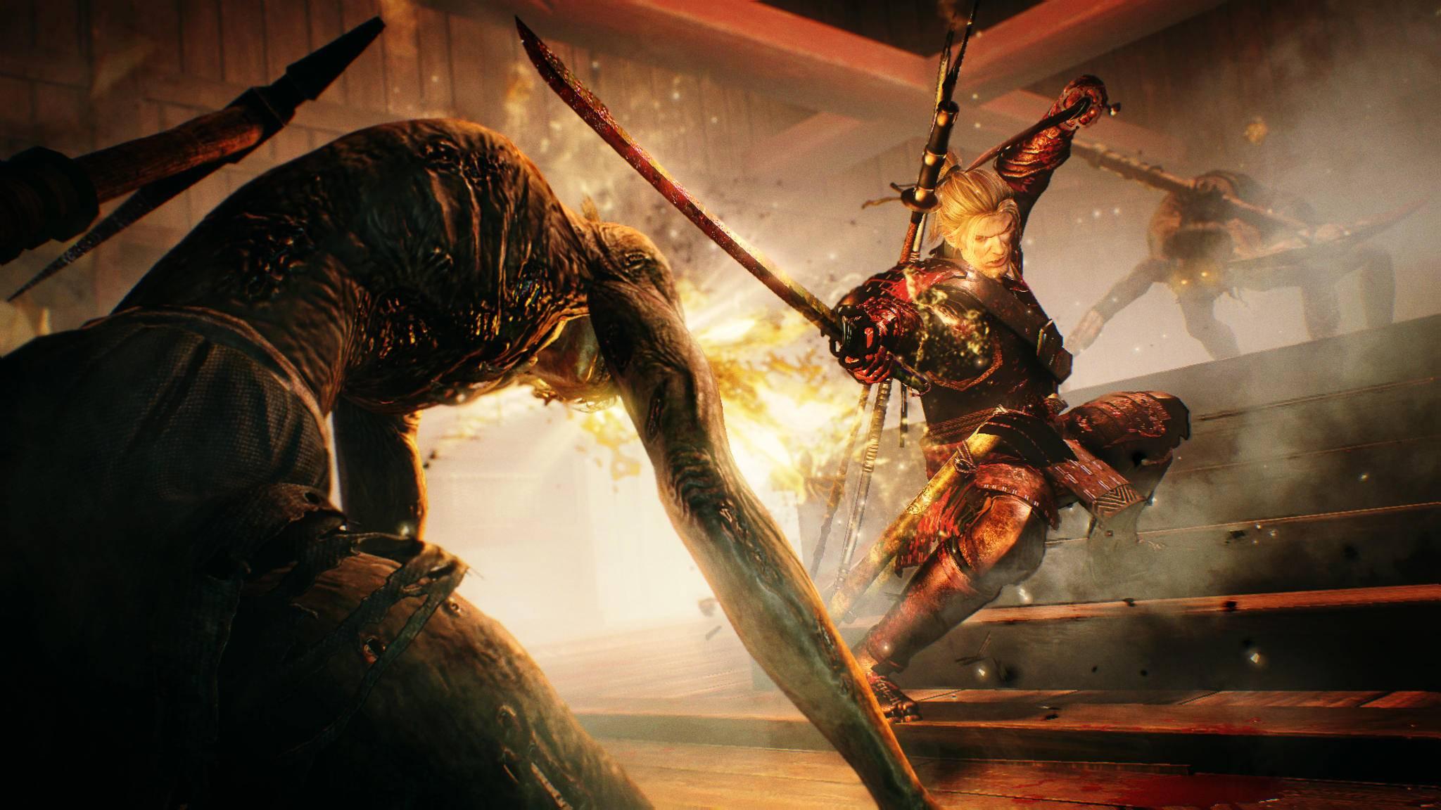 """Das Action-RPG """"Nioh"""" gibt es exklusiv für PS4."""