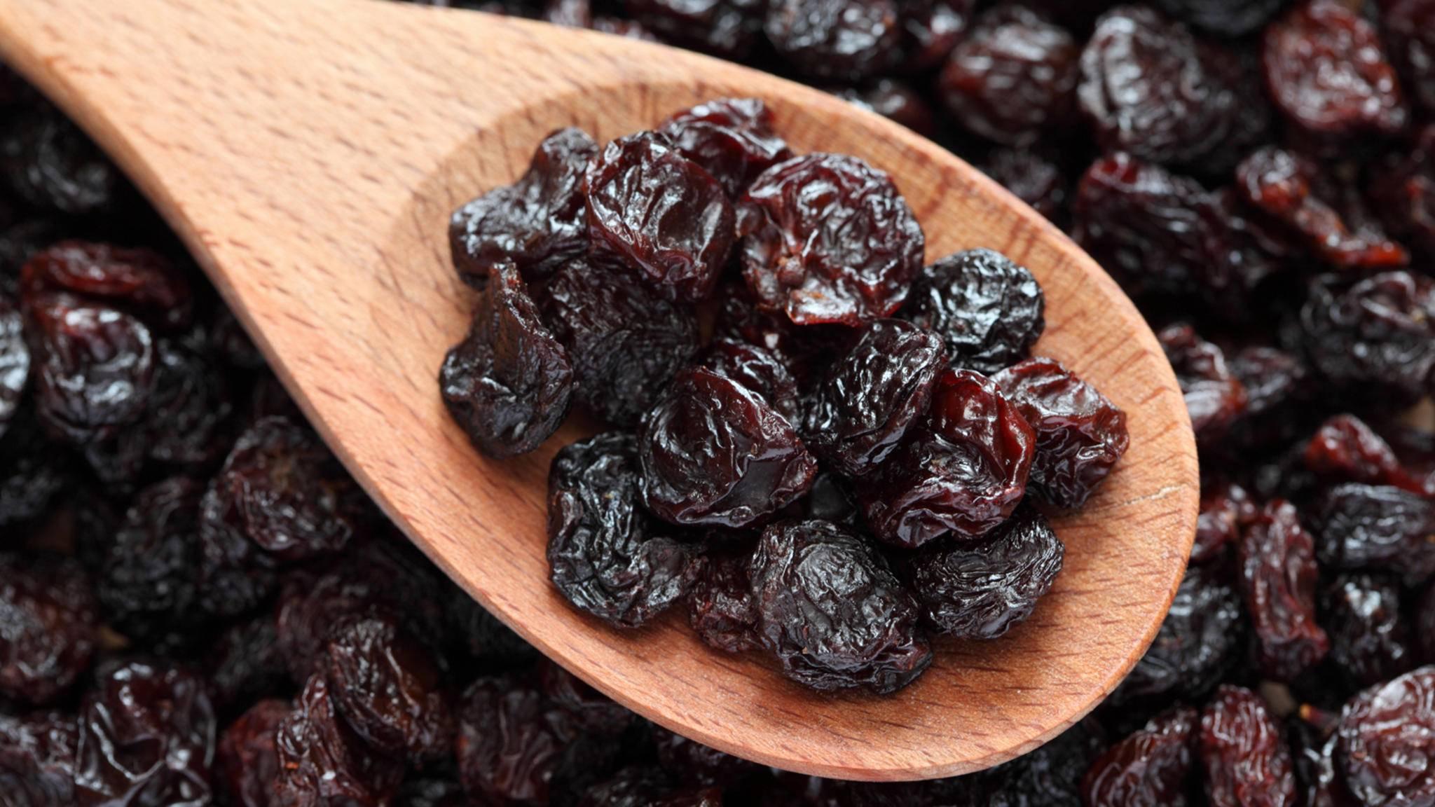 Rosinen können helfen, das achtsame Essen zu üben.