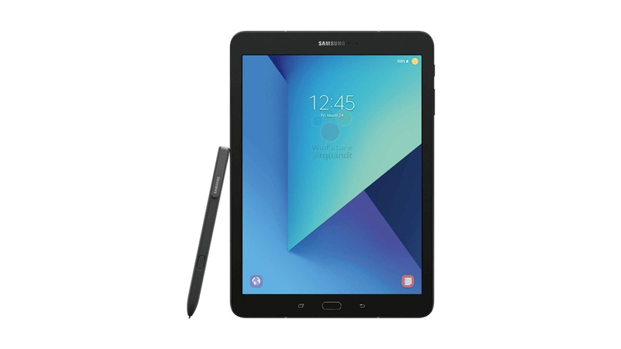 So soll das Samsung Galaxy Tab S3 angeblich aussehen.