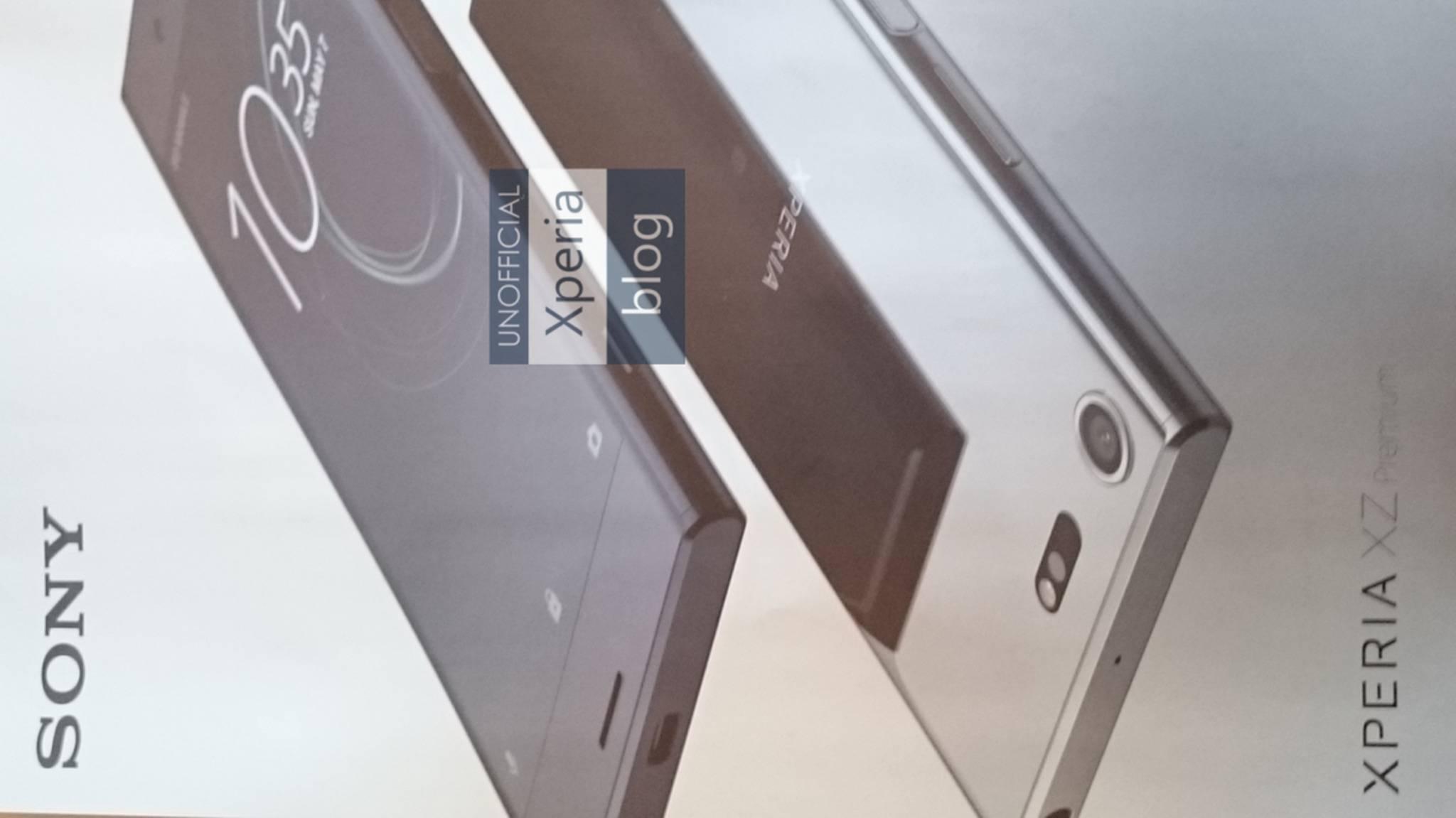 Das Sony Xperia XZ Premium soll ein 4K HDR-Display bieten.