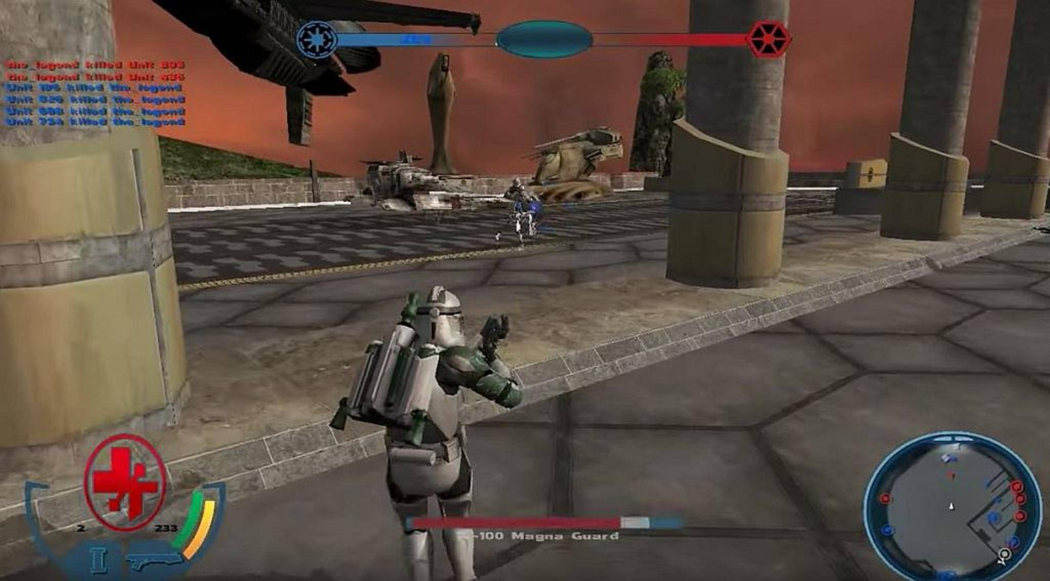 """Verspricht jede Menge Spielspaß: die Mod """"Star Wars: Battlefront 3 Legacy""""."""