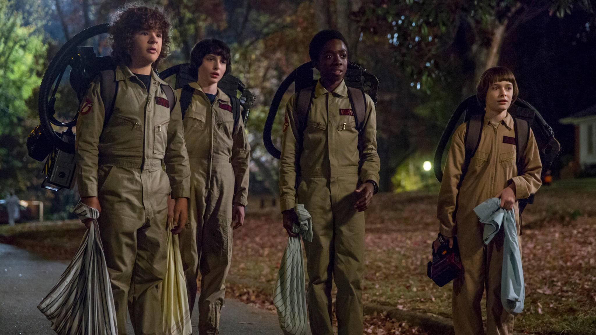 """Im besten Fall könnte es bis zu fünf Staffeln von """"Stranger Things"""" geben."""