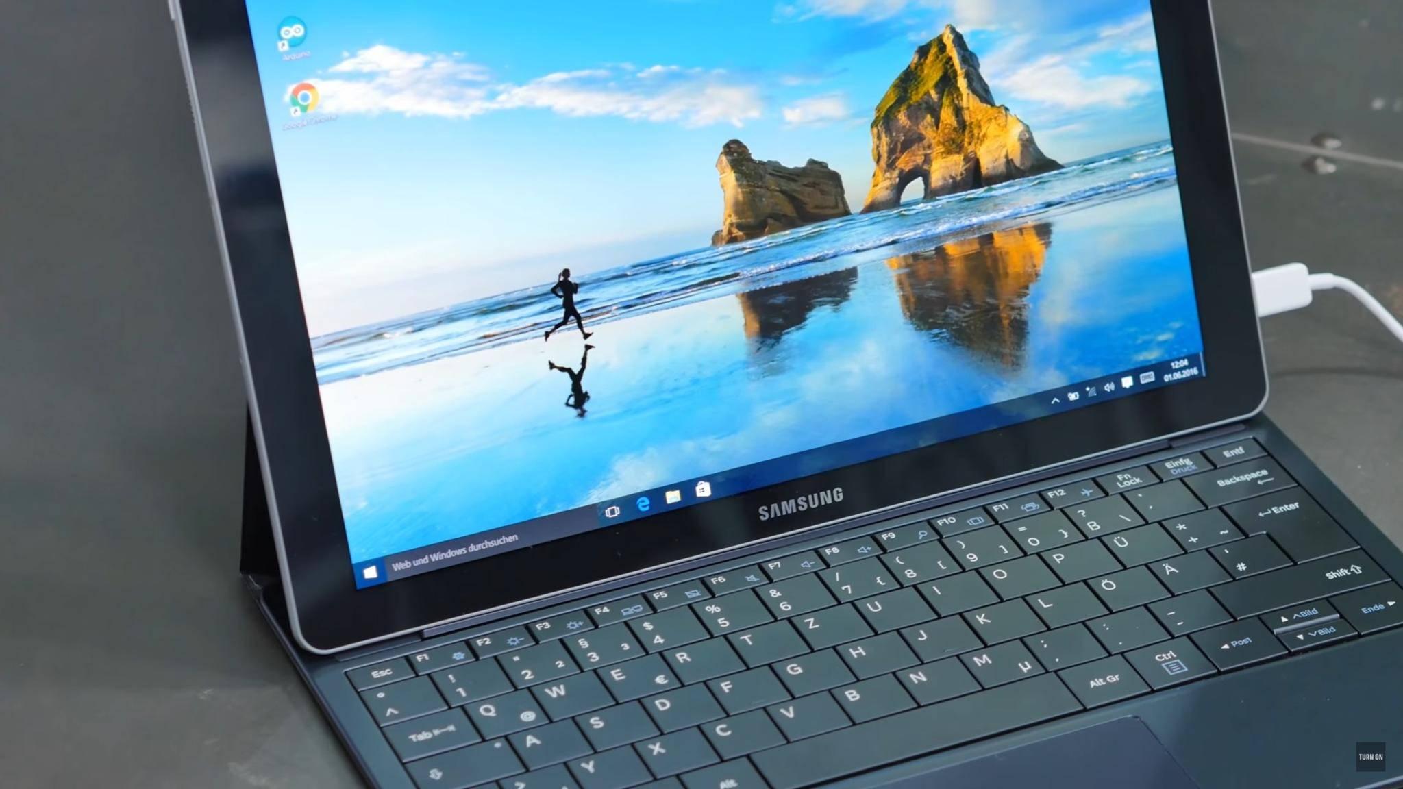 TURN ON Windows 10 Tablet