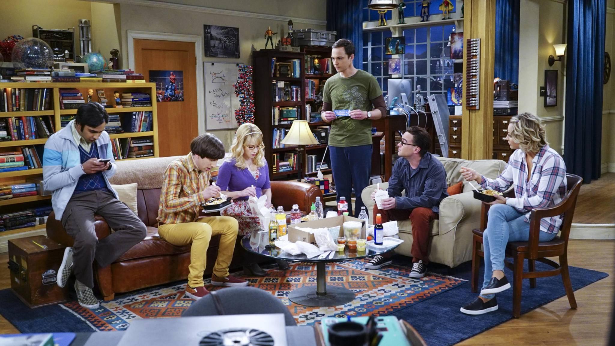 """Die Nerds aus """"The Big Bang Theory"""" sollen für Staffel 11 und 12 zurückkehren."""