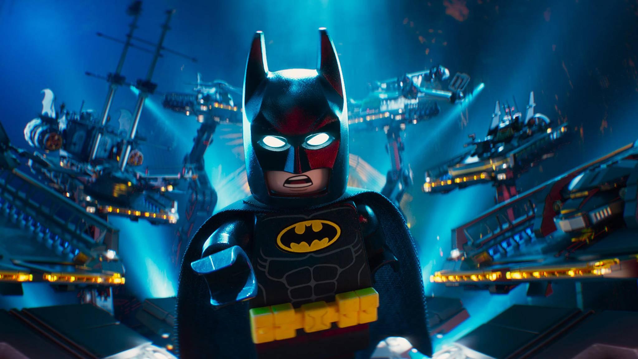 """Nicht aufzuhalten? """"The LEGO Batman Movie"""" stürmte am ersten Wochenende die US-Kinocharts."""