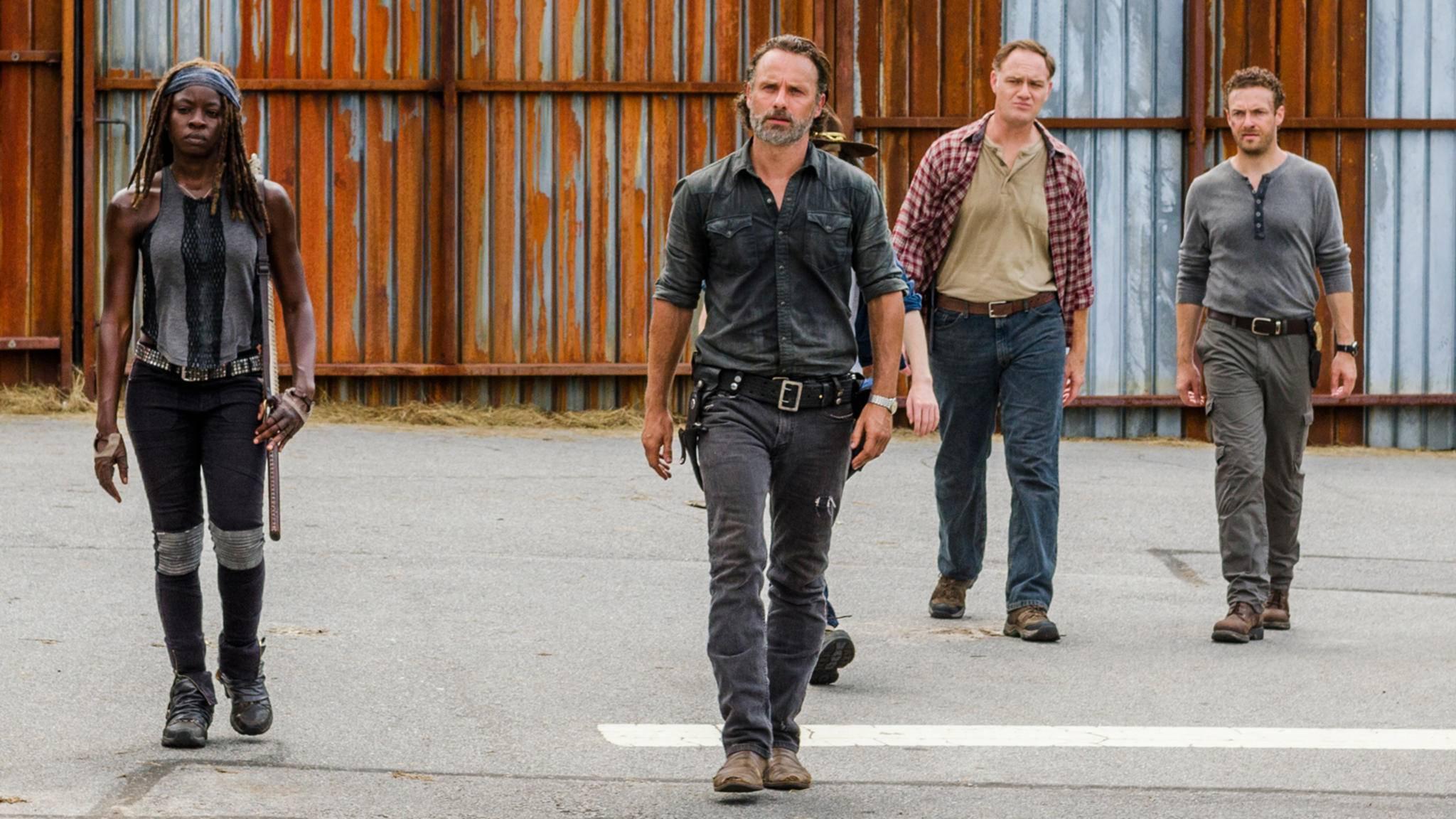"""Rick ist auf dem Weg, um Negan in der siebten """"The Walking Dead""""-Staffel so richtig einzuheizen."""