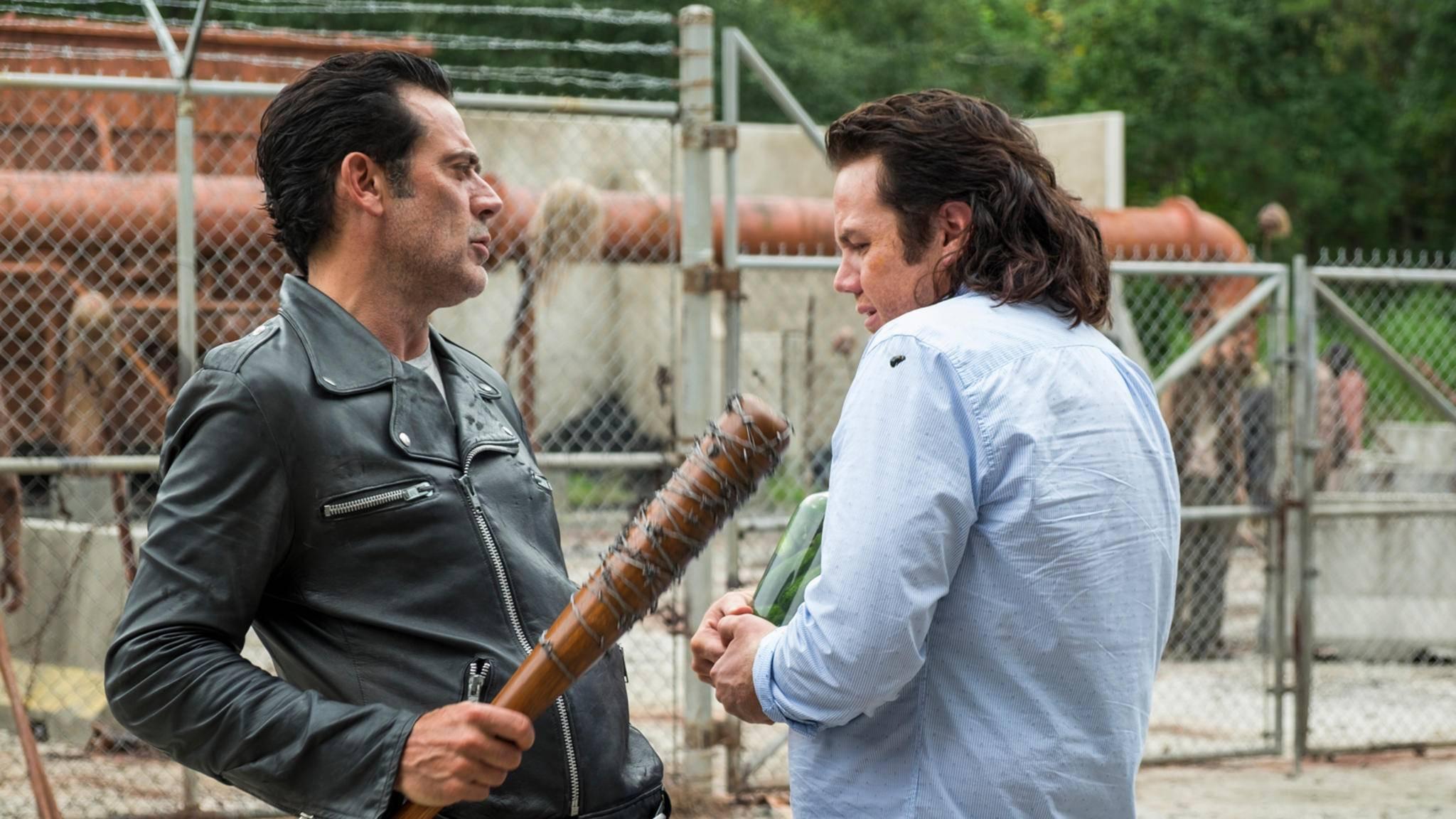 Mit Negan ist wahrlich nicht zu spaßen – das weiß auch Eugene.