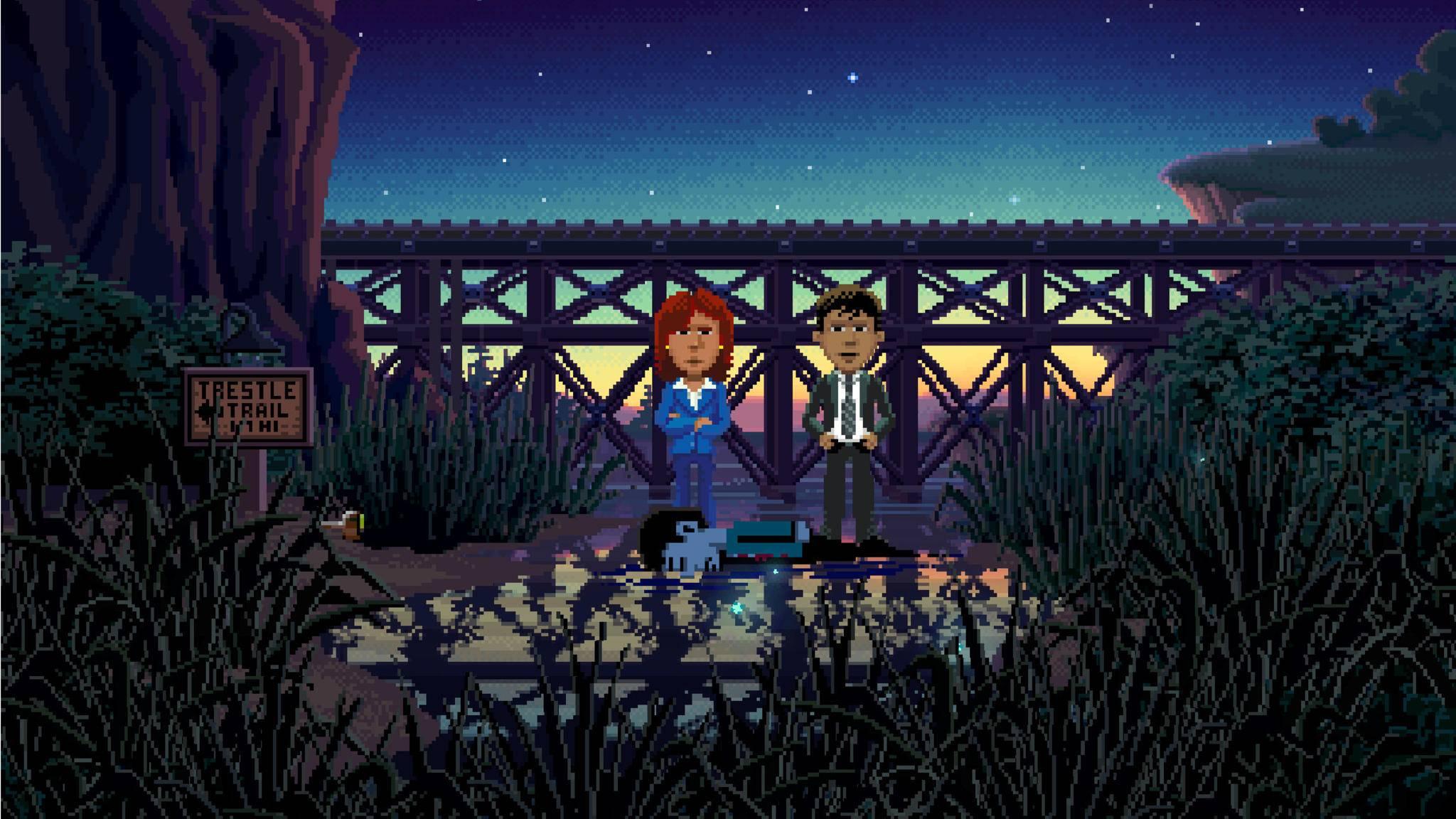 """""""Thimbleweed Park"""" ist das neue Spiel von Ron Gilbert."""