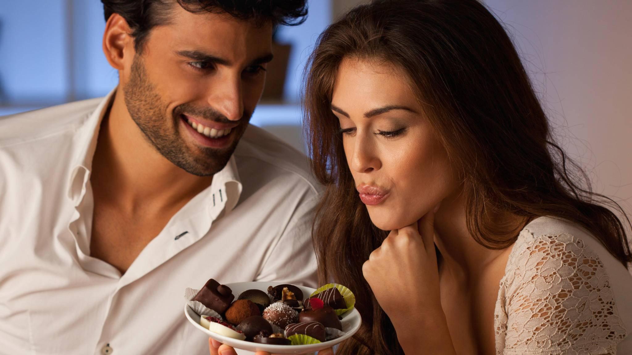 Mit selbst gemachten Pralinen lässt sich die Liebste am Valentinstag sicher beeindrucken.