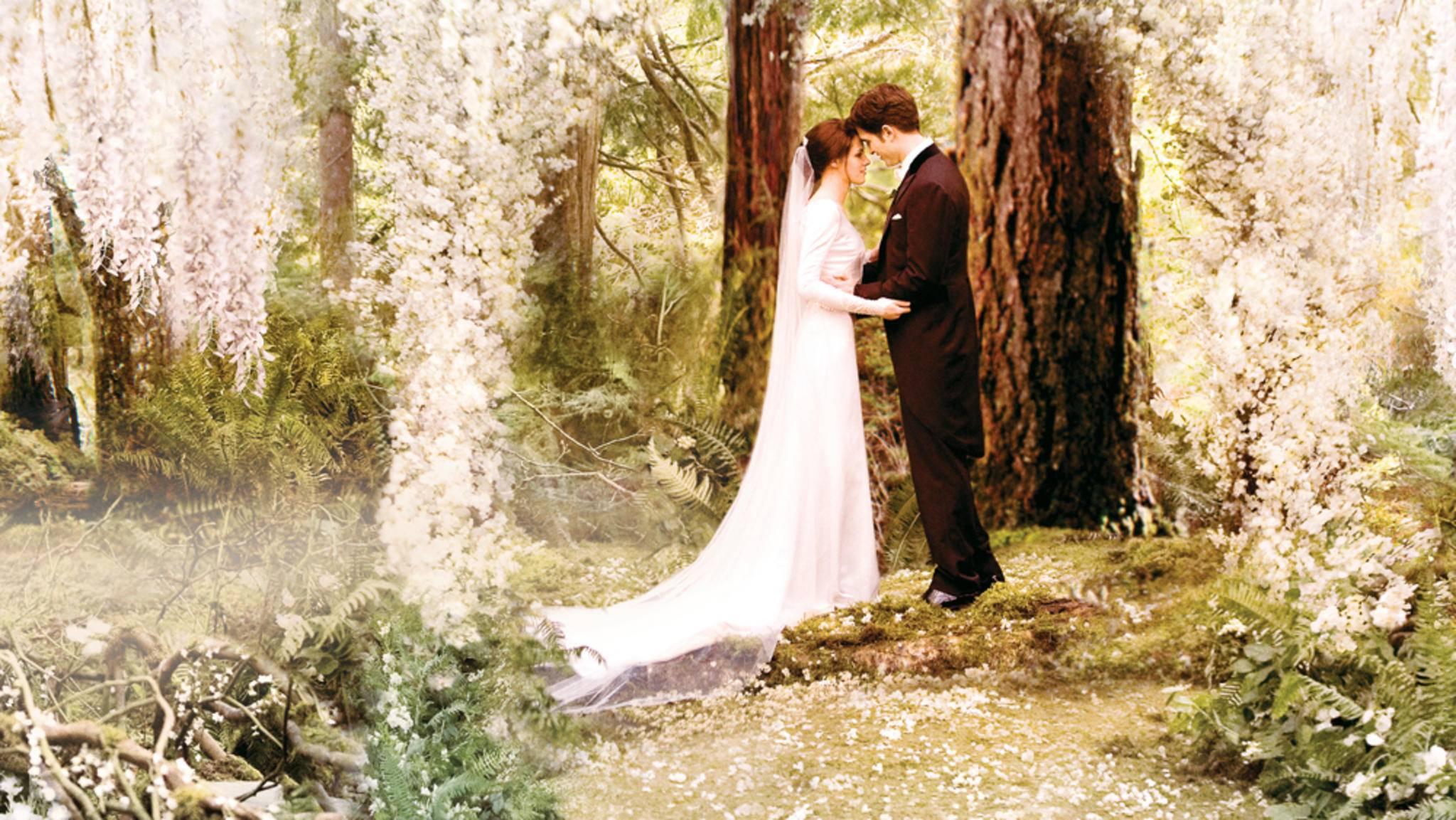 """Romantik pur: """"Twilight"""" feierte weltweit Erfolge. Auch die Kussszenen wurden regelmäßig ausgezeichnet."""